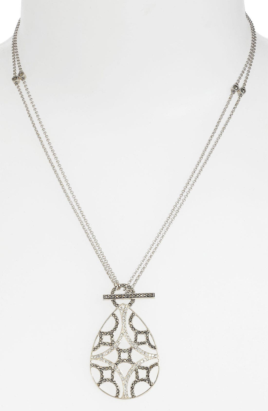 Alternate Image 1 Selected - Judith Jack 'Turq Matrix' Convertible Pendant Necklace