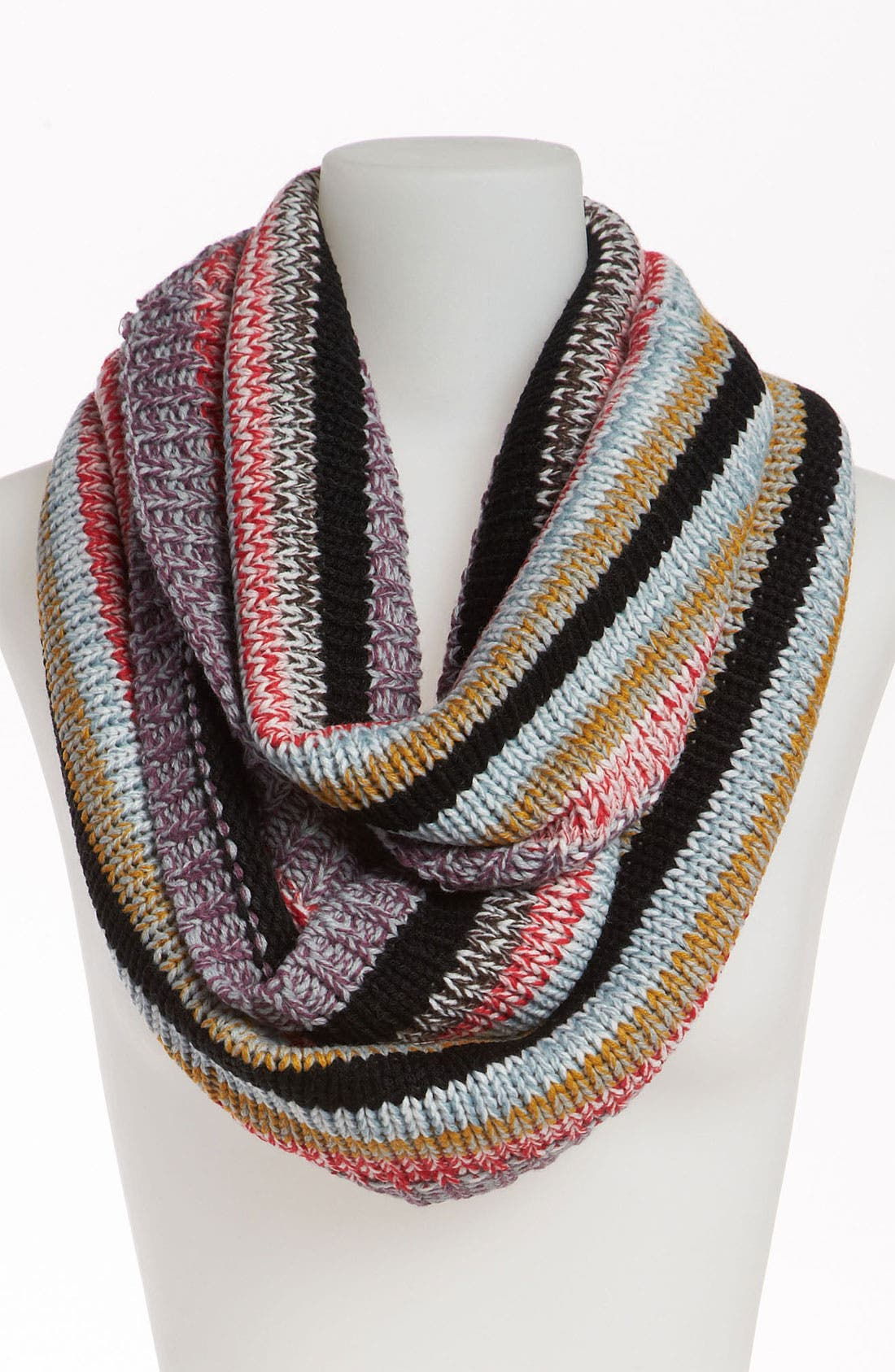 Main Image - BP. Stripe Knit Infinity Scarf
