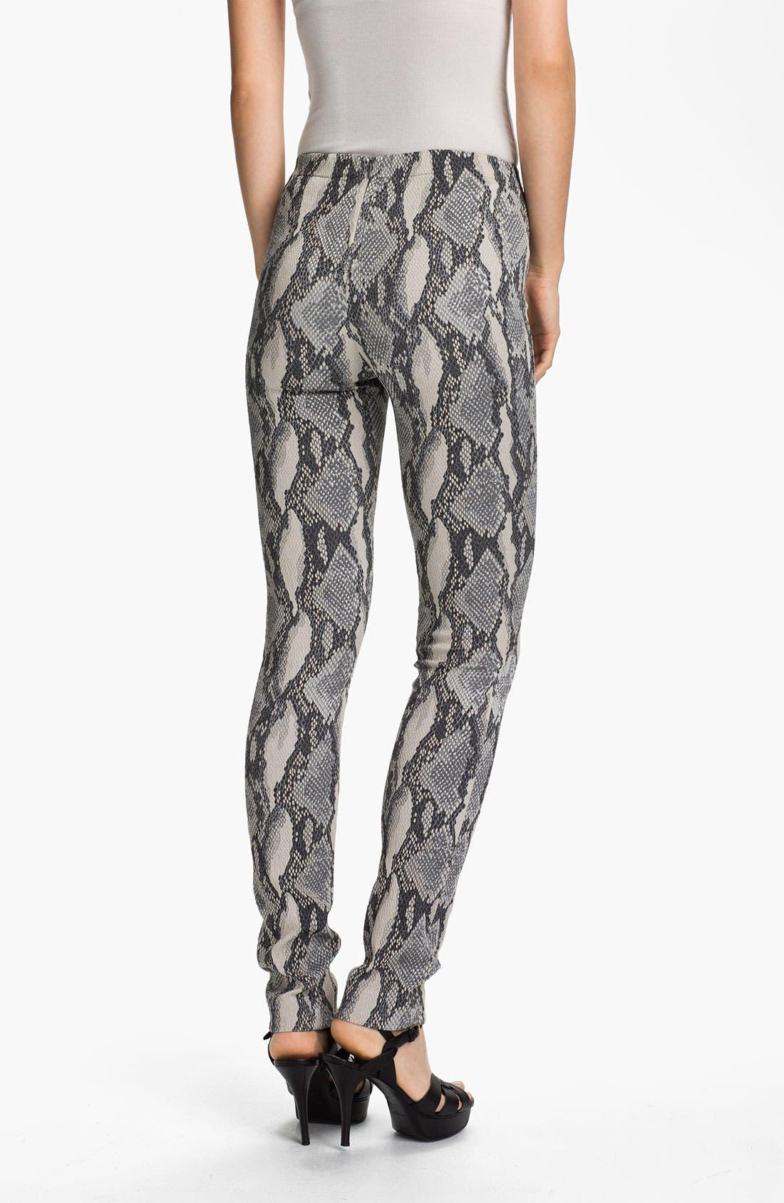 Alternate Image 2  - Zadig & Voltaire Snake Print Pants