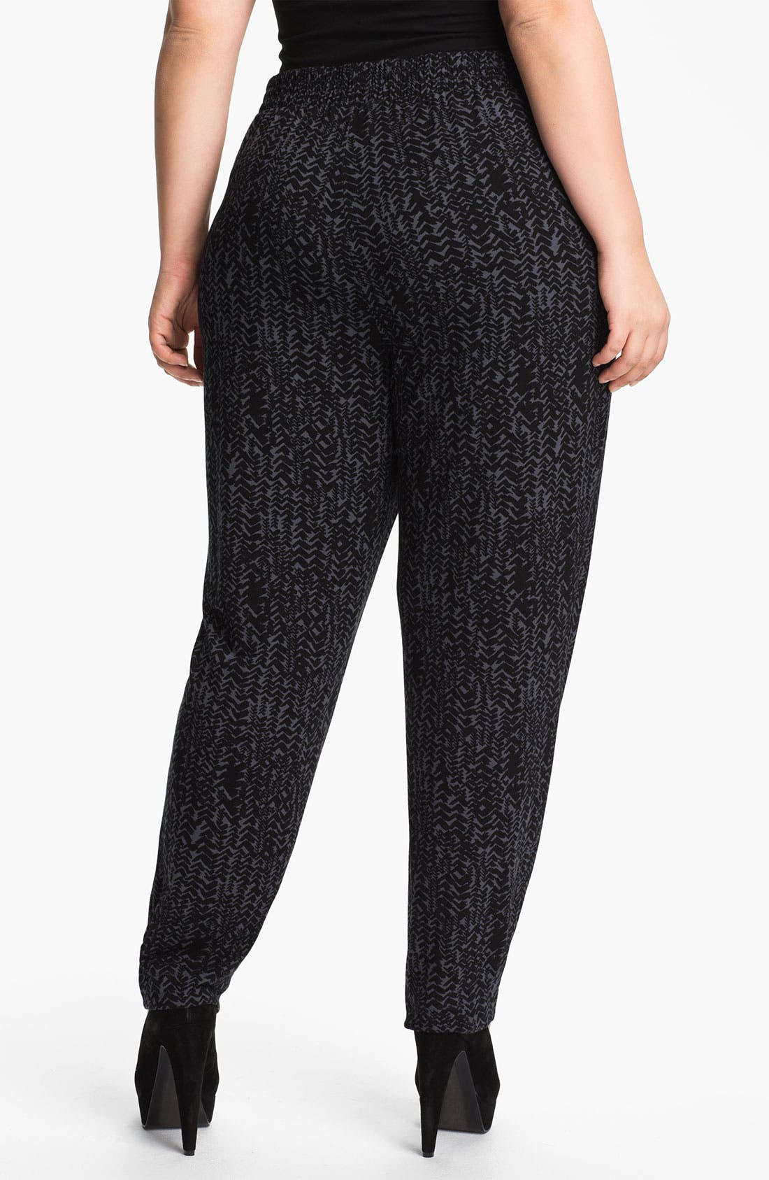 Alternate Image 2  - Sejour Knit Ankle Pants (Plus)