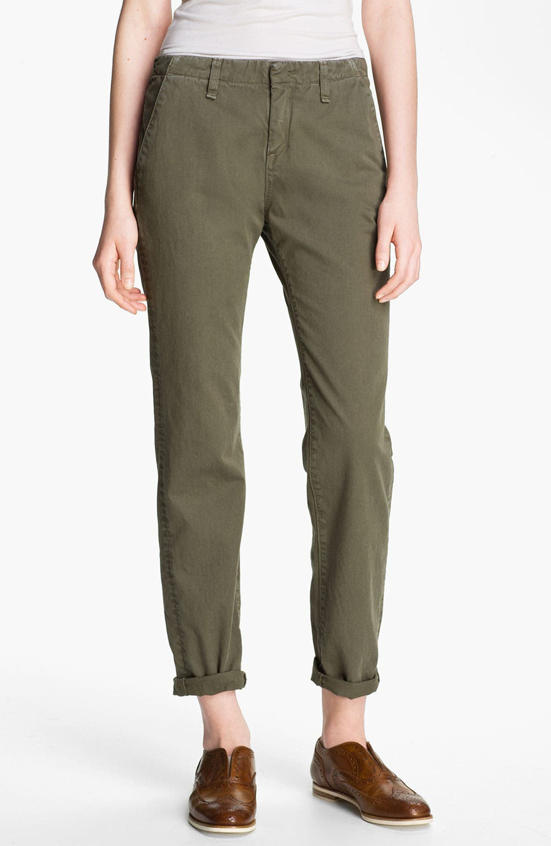 Alternate Image 1 Selected - rag & bone/JEAN 'Portobello' Twill Pants