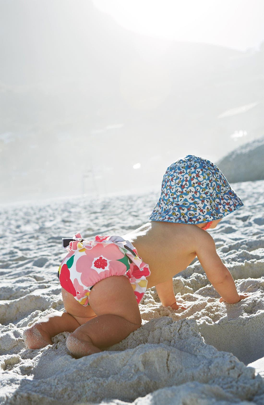 Alternate Image 2  - Mini Boden Ruffle Swim Bloomers (Baby)