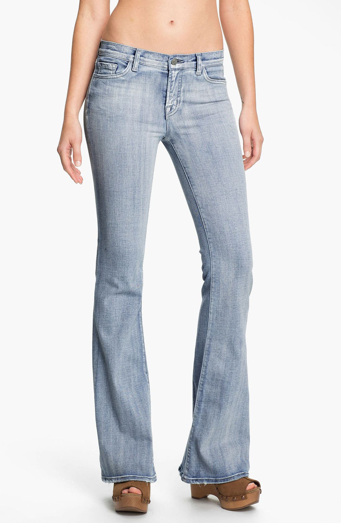 Main Image - J Brand 'Babe' Flare Leg Jeans (Afterlife)