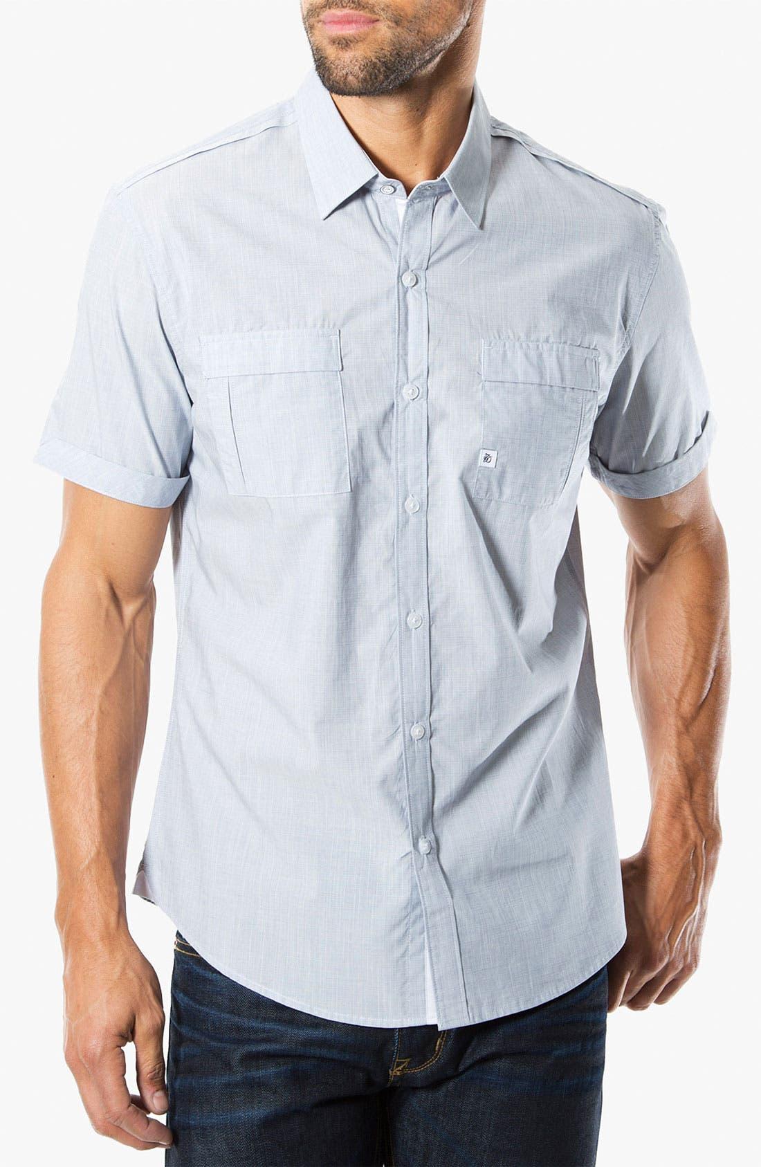 Main Image - 7 Diamonds 'Perfect Way' Short Sleeve Woven Sport Shirt