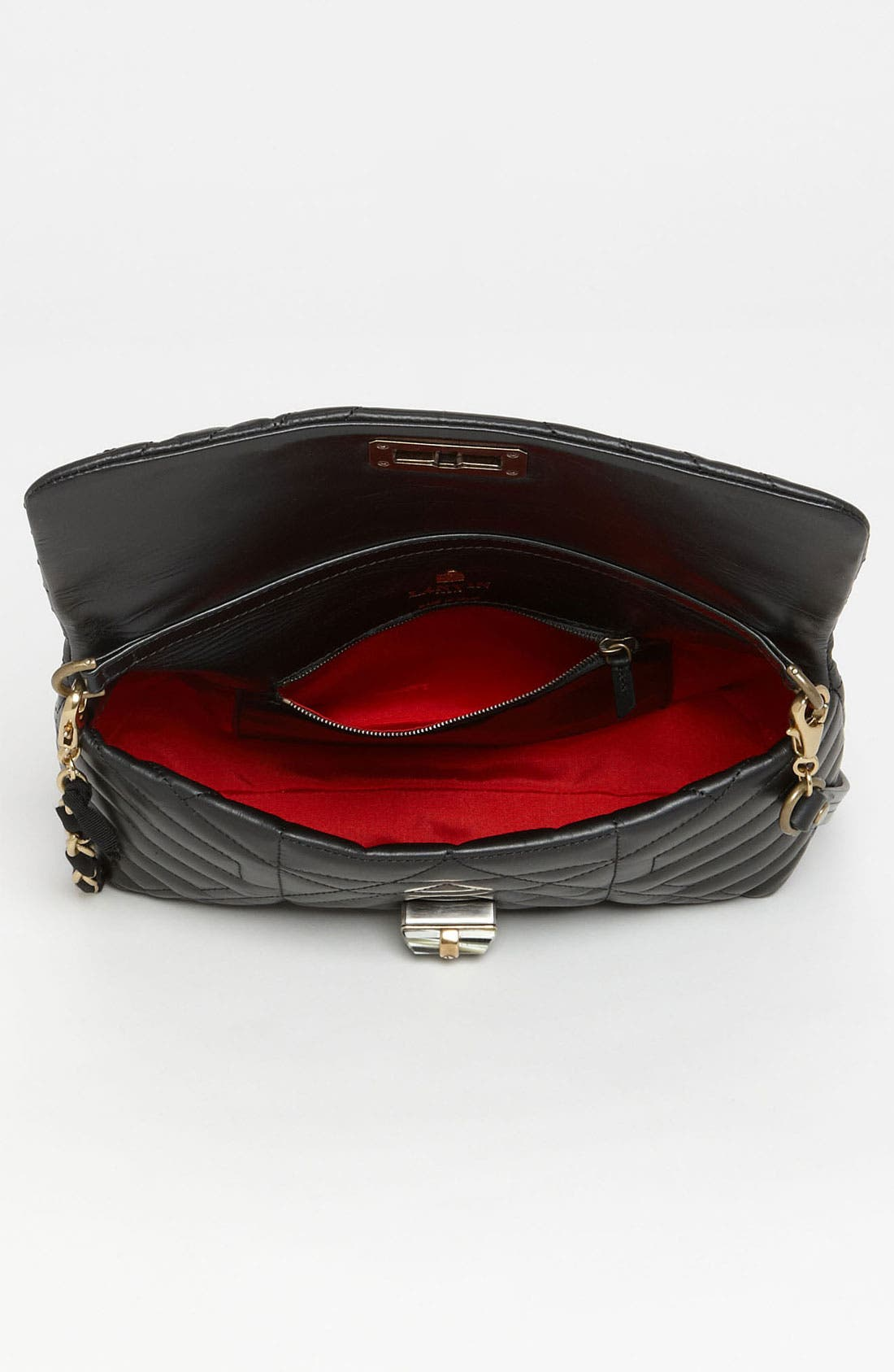 Alternate Image 3  - Lanvin 'Happy' Quilted Leather Crossbody Bag