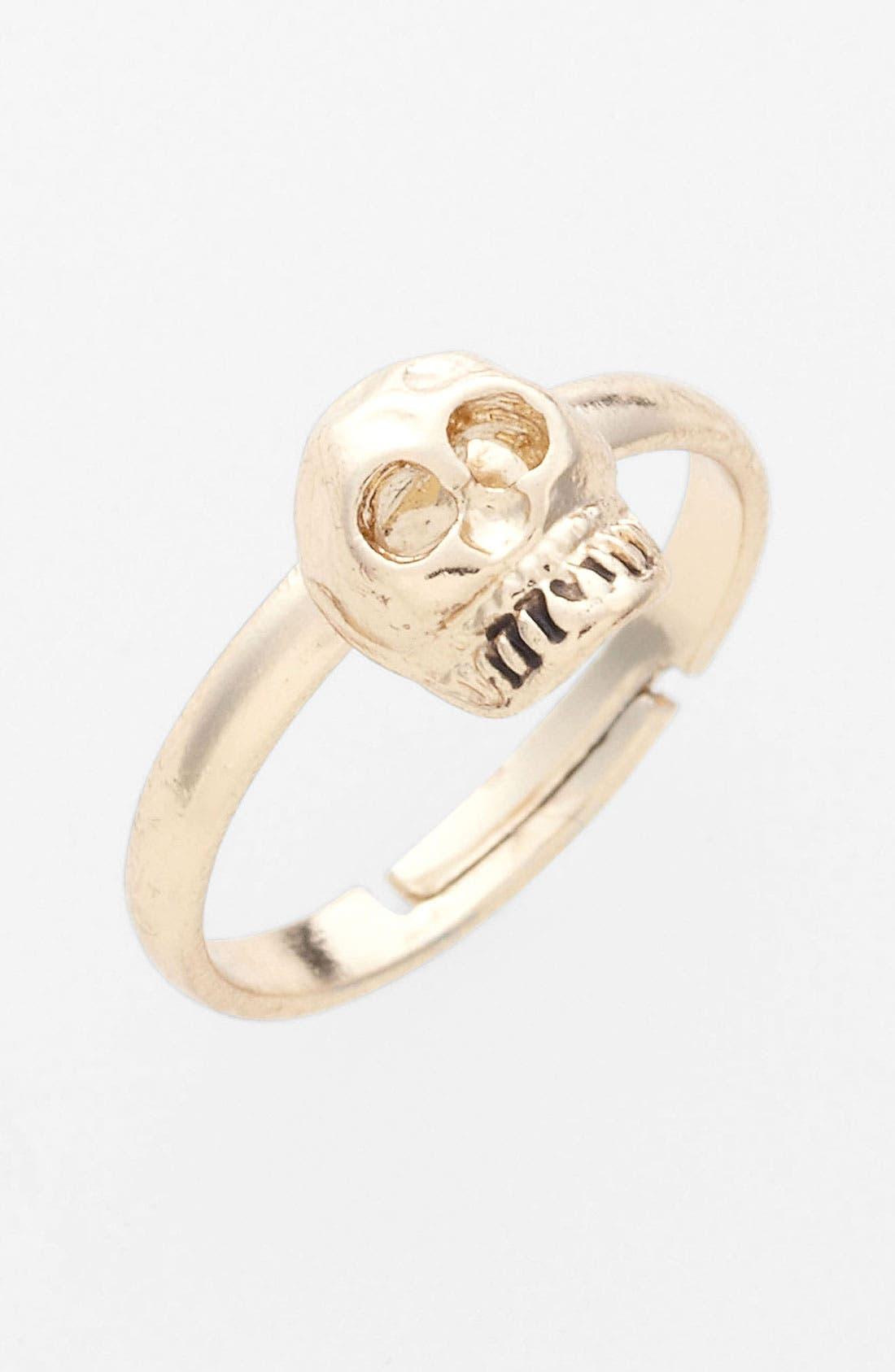 Main Image - BP. Midi Skull Ring