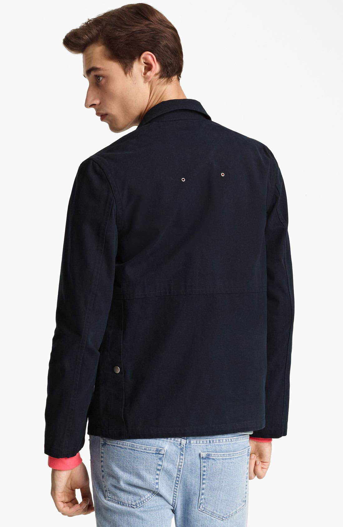 Alternate Image 2  - A.P.C. Canvas Field Jacket