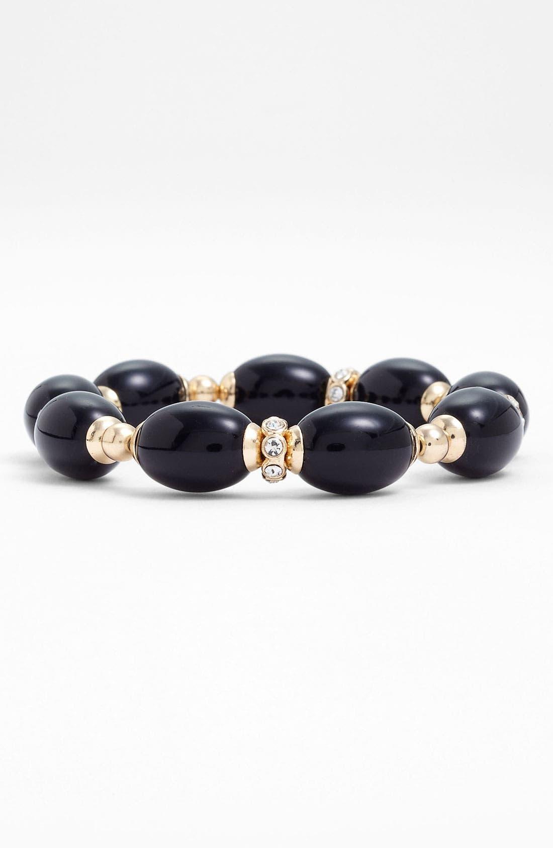 Alternate Image 1 Selected - Anne Klein 'Alder' Stretch Bracelet