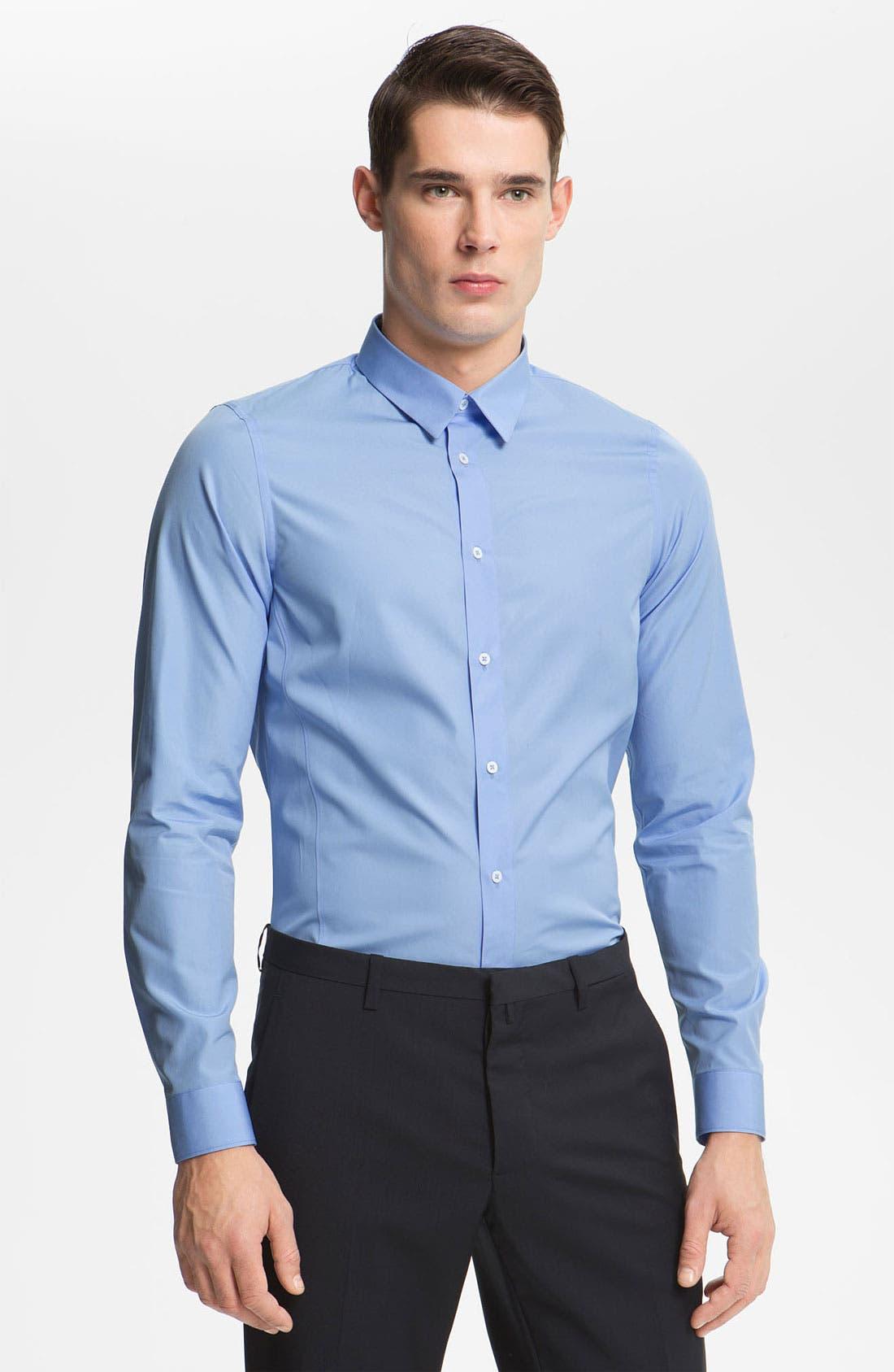 Main Image - Jil Sander Poplin Dress Shirt