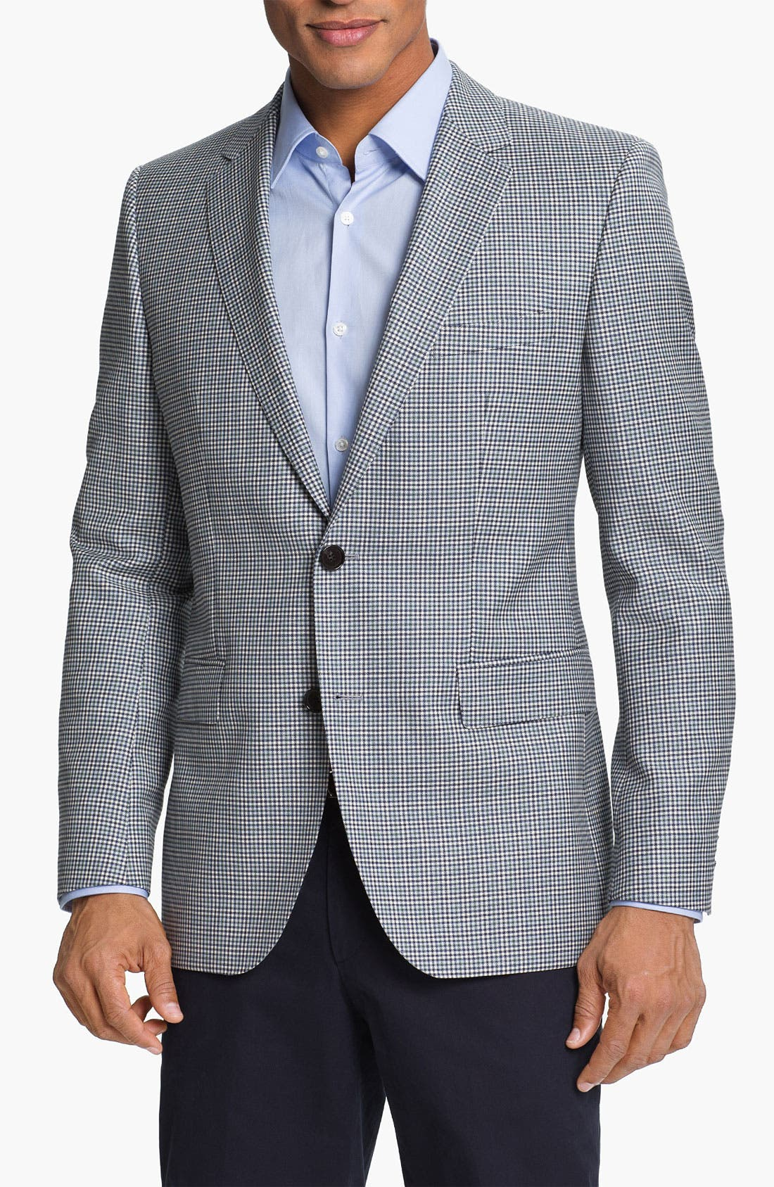 Main Image - BOSS HUGO BOSS 'James' Trim Fit Check Sportcoat