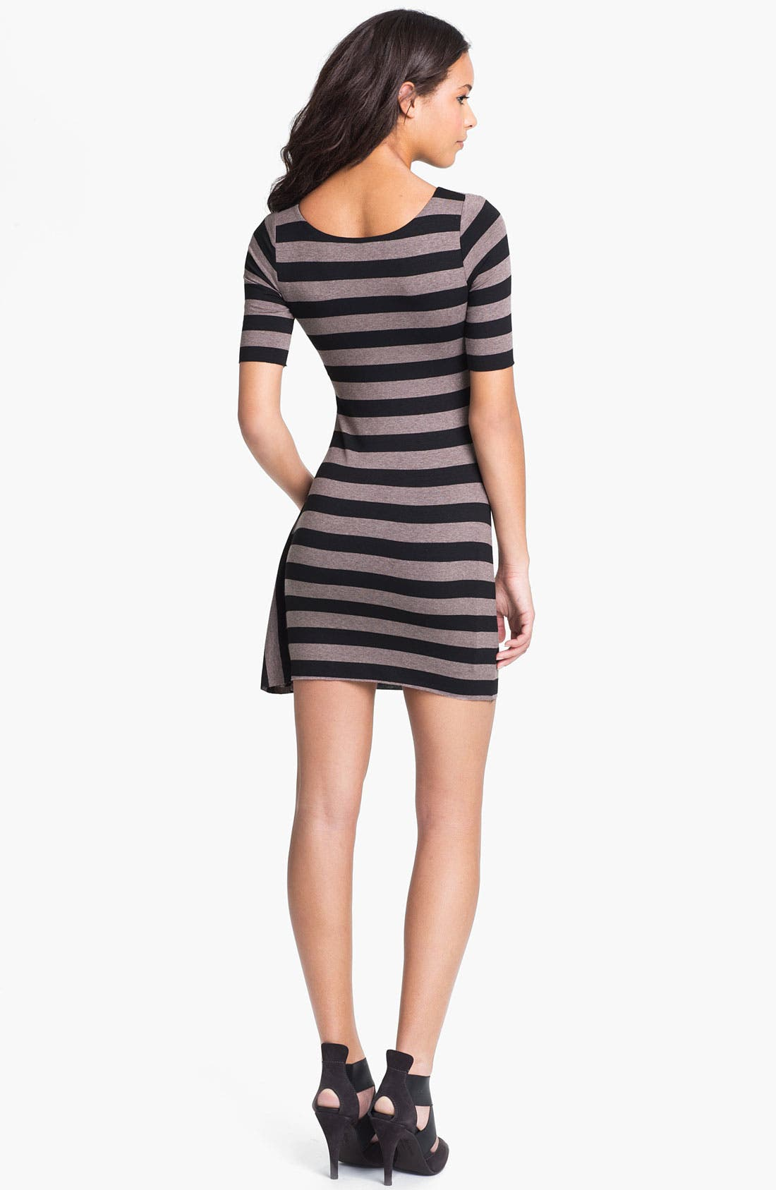Alternate Image 2  - Bailey 44 'Delphi' Drape Detail Stripe Dress