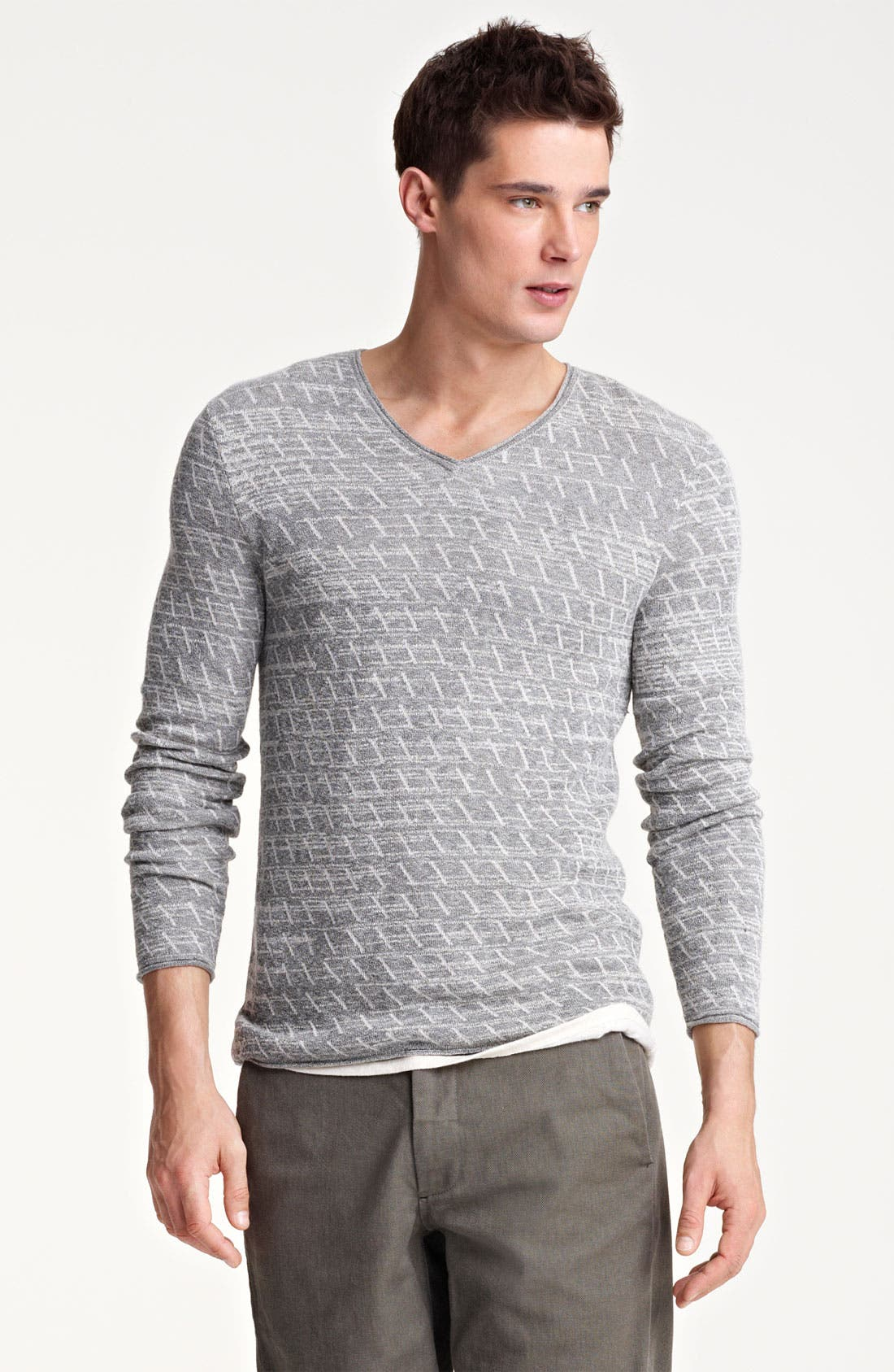 Alternate Image 1 Selected - Rogan 'Choovio' V-Neck Sweater