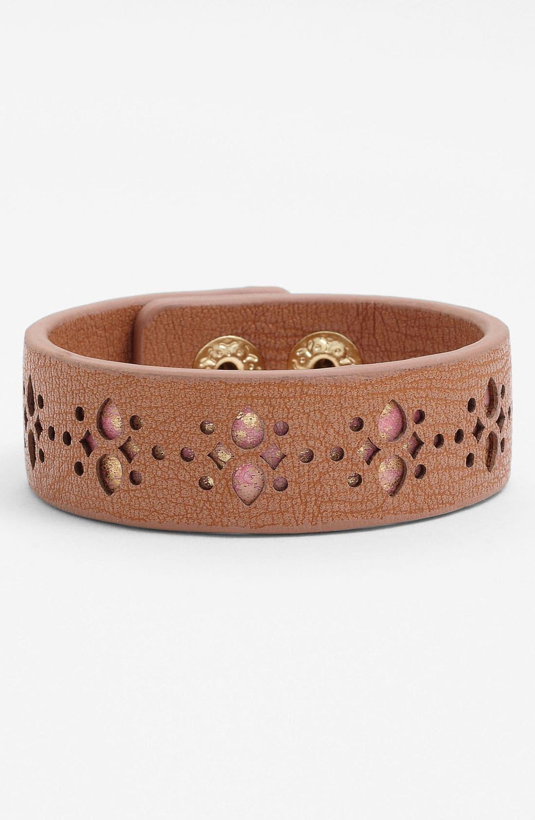 Alternate Image 1 Selected - Jessica Simpson 'Snake My Hand' Wrap Bracelet