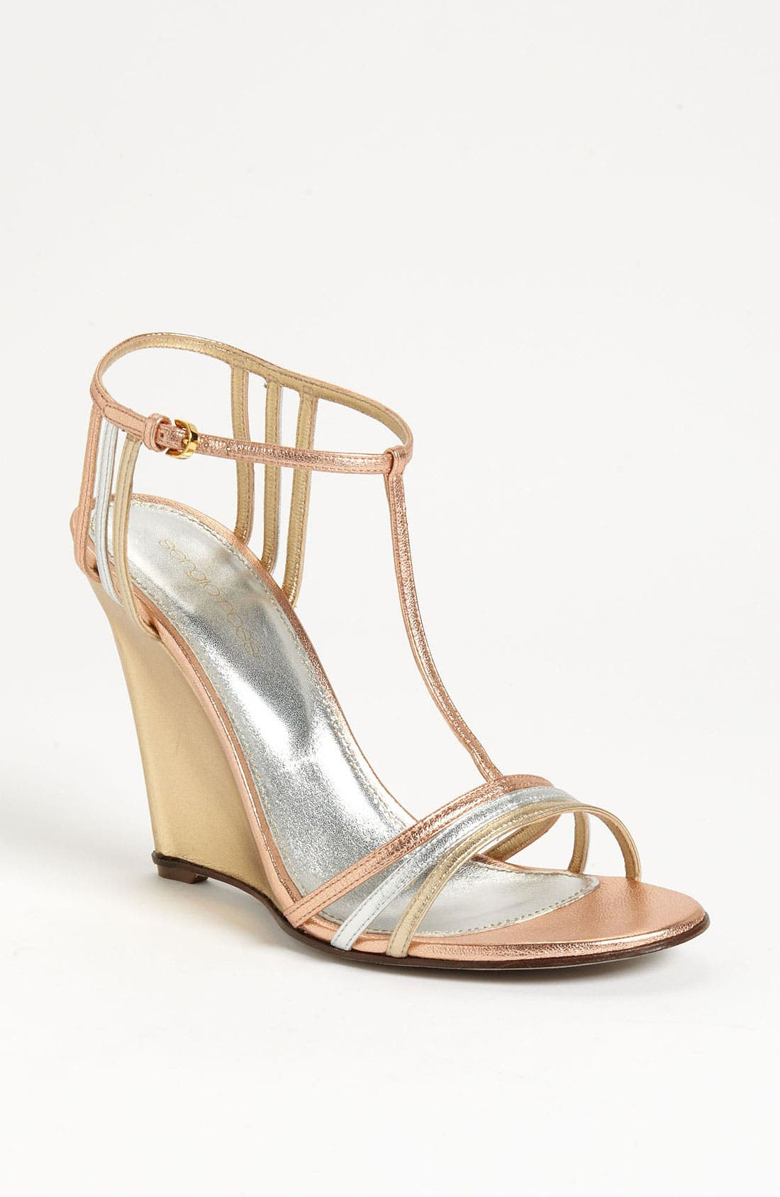Main Image - Sergio Rossi 'Mirage' Wedge Sandal