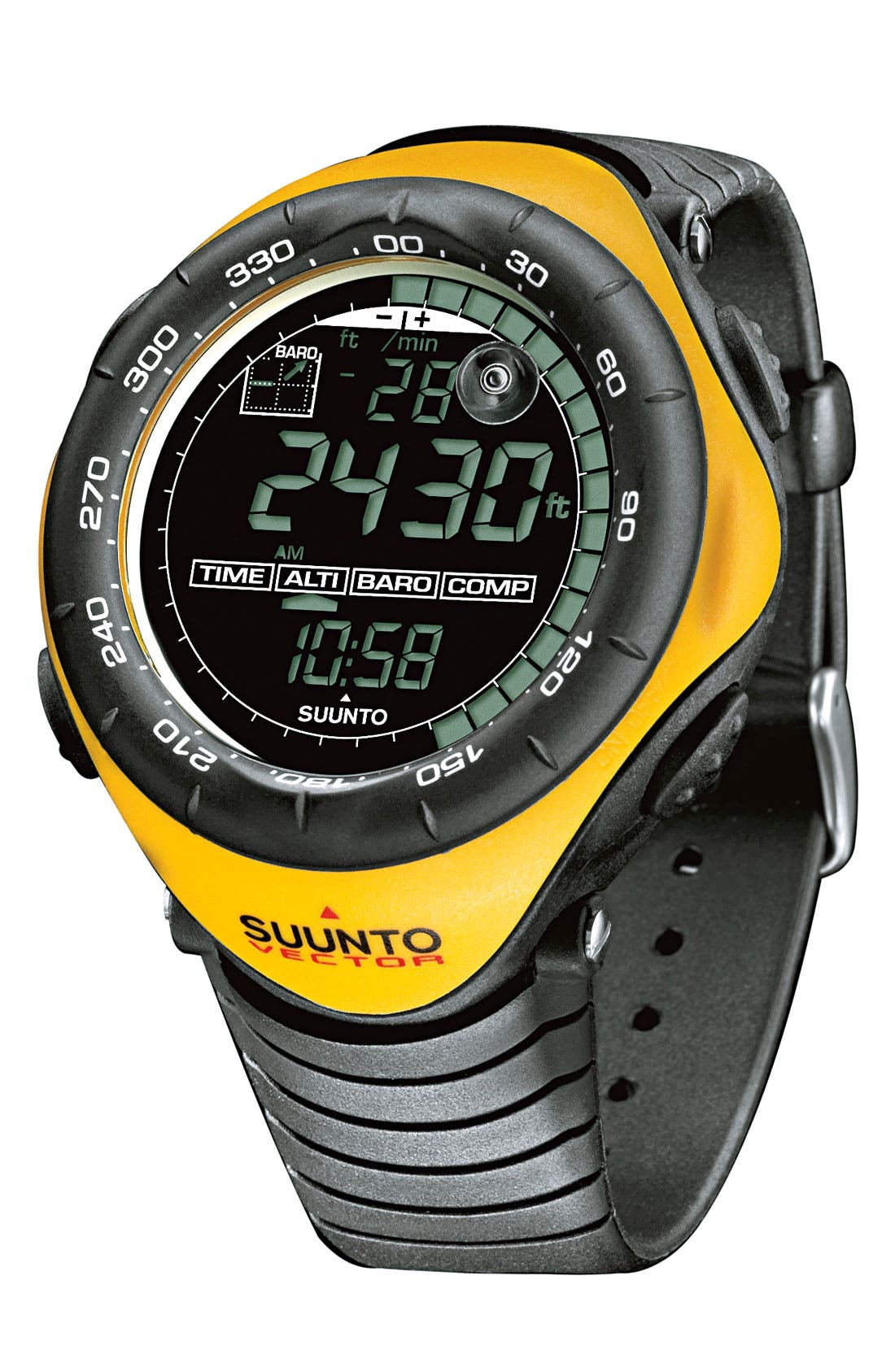 Alternate Image 2  - Suunto 'Vector' Multifunction Watch, 52mm
