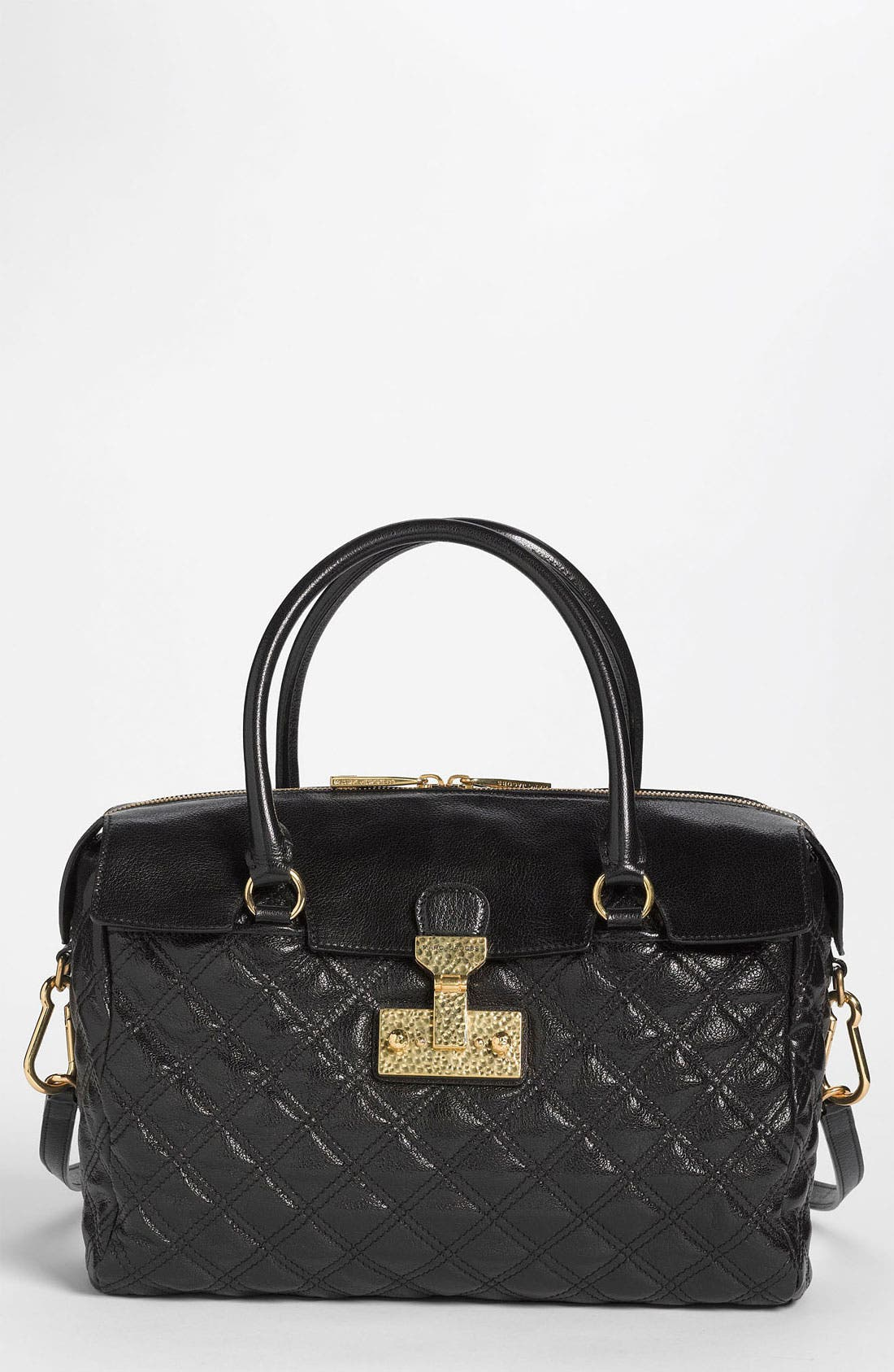 Alternate Image 1 Selected - MARC JACOBS 'Baroque - Rudi' Leather Satchel