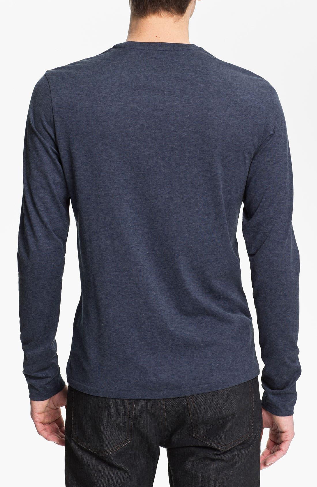 Alternate Image 2  - Burberry Brit Check Trim Crewneck T-Shirt