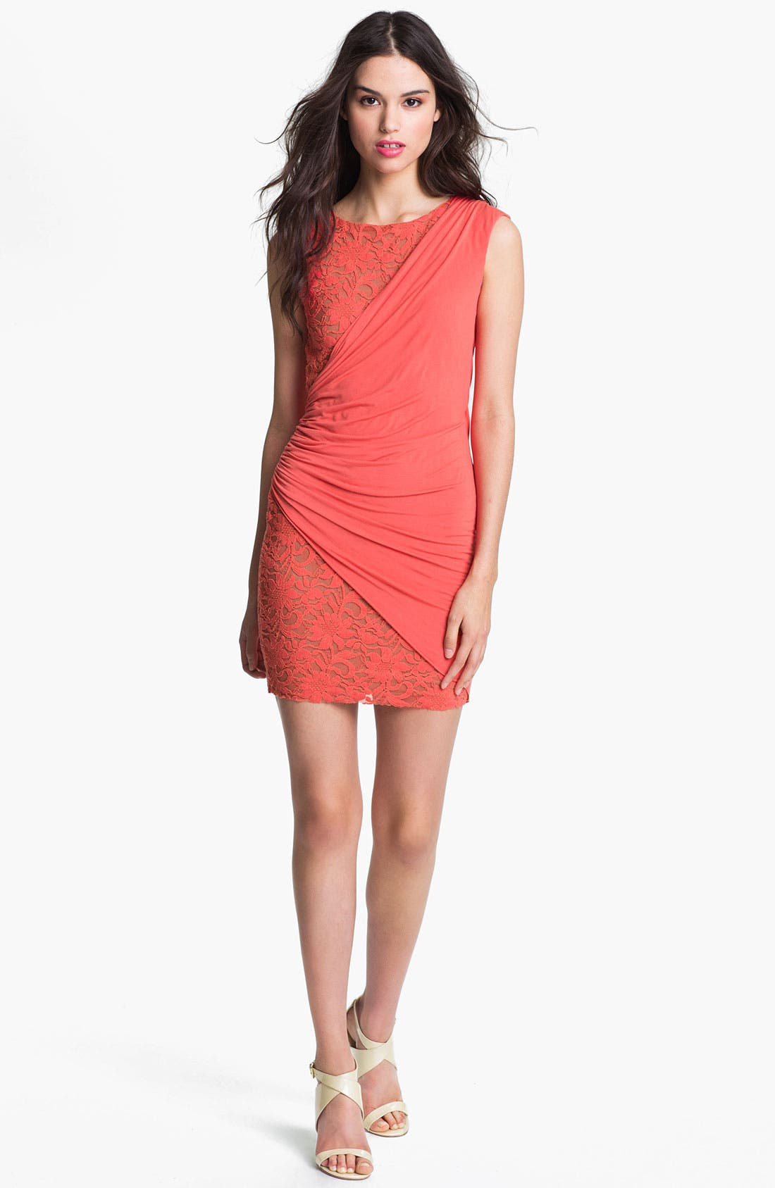 Alternate Image 1 Selected - B44 Dressed by Bailey 44 'Movido' Lace Minidress
