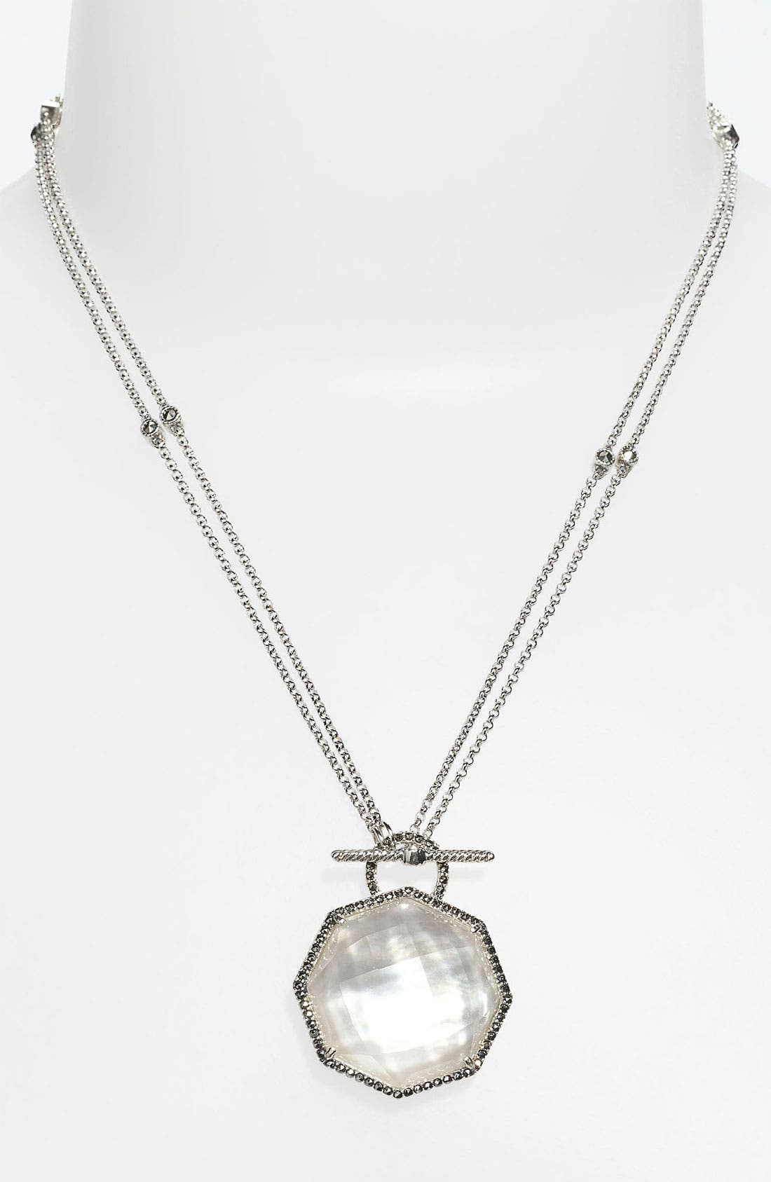 Alternate Image 1 Selected - Judith Jack 'Maldives' Convertible Pendant Necklace (Online Only)