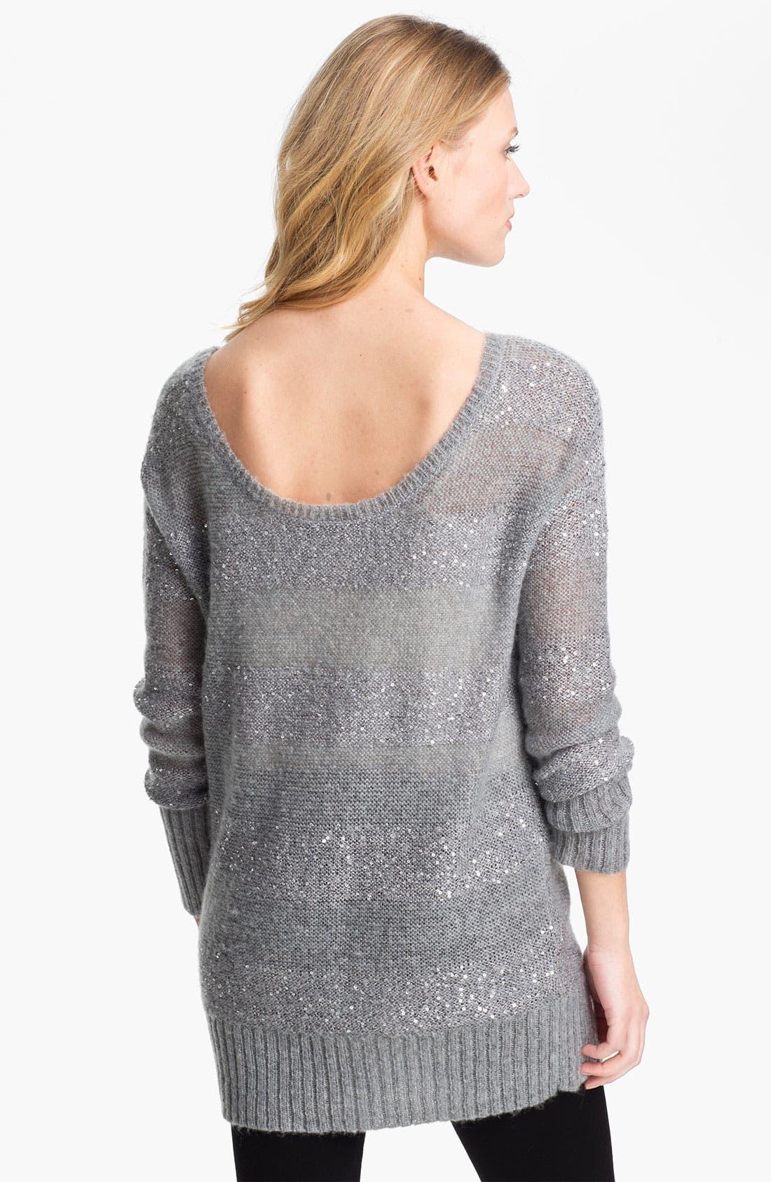 Alternate Image 2  - DKNYC 'Cloud' Tunic Sweater