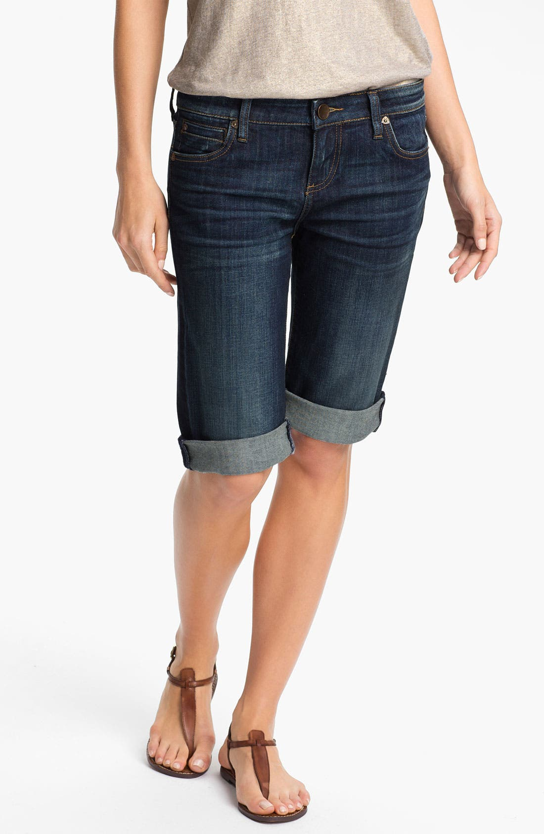 Alternate Image 1 Selected - KUT from the Kloth Denim Bermuda Shorts