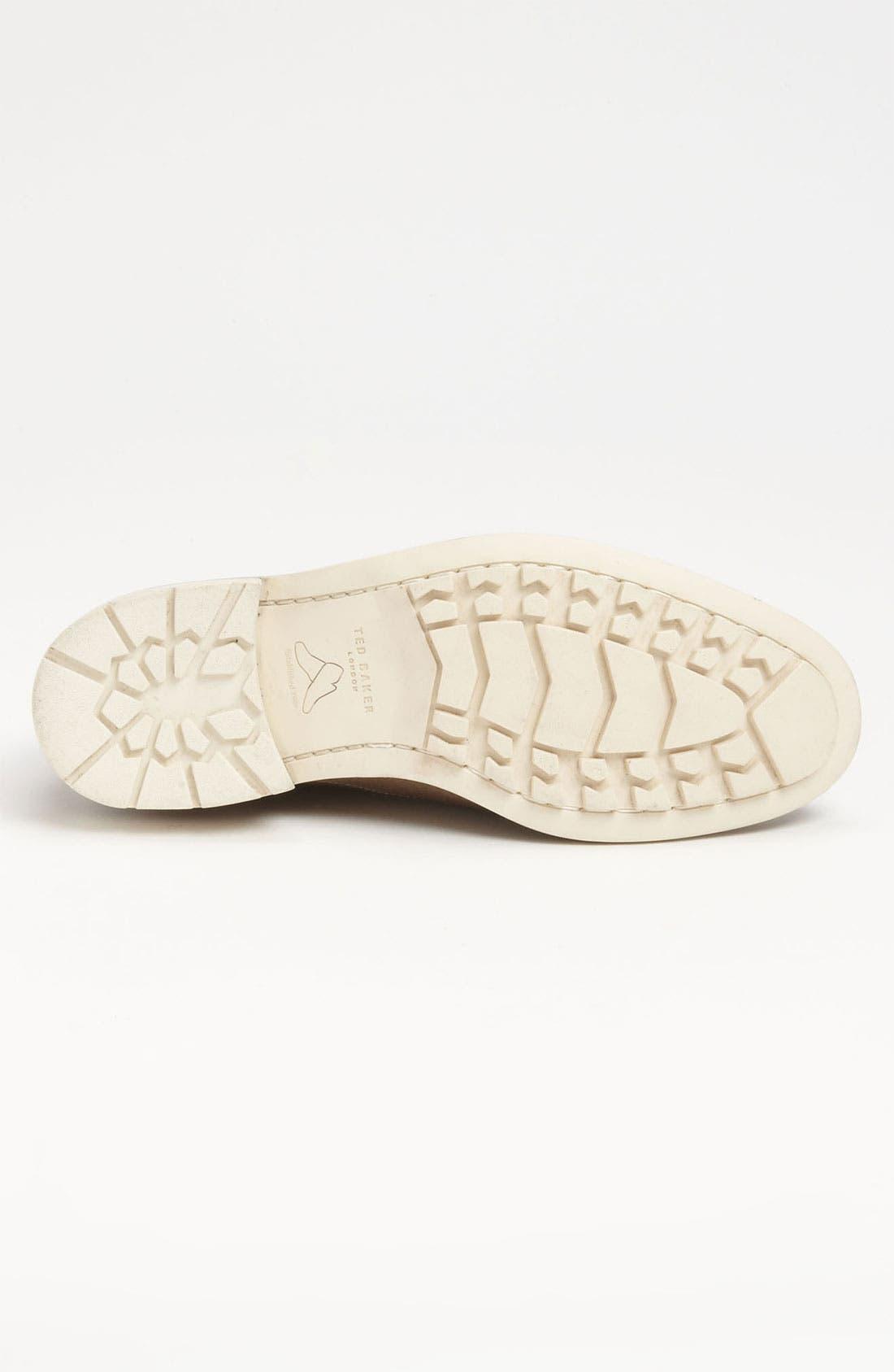 Alternate Image 4  - Ted Baker London 'Tich' Buck Shoe