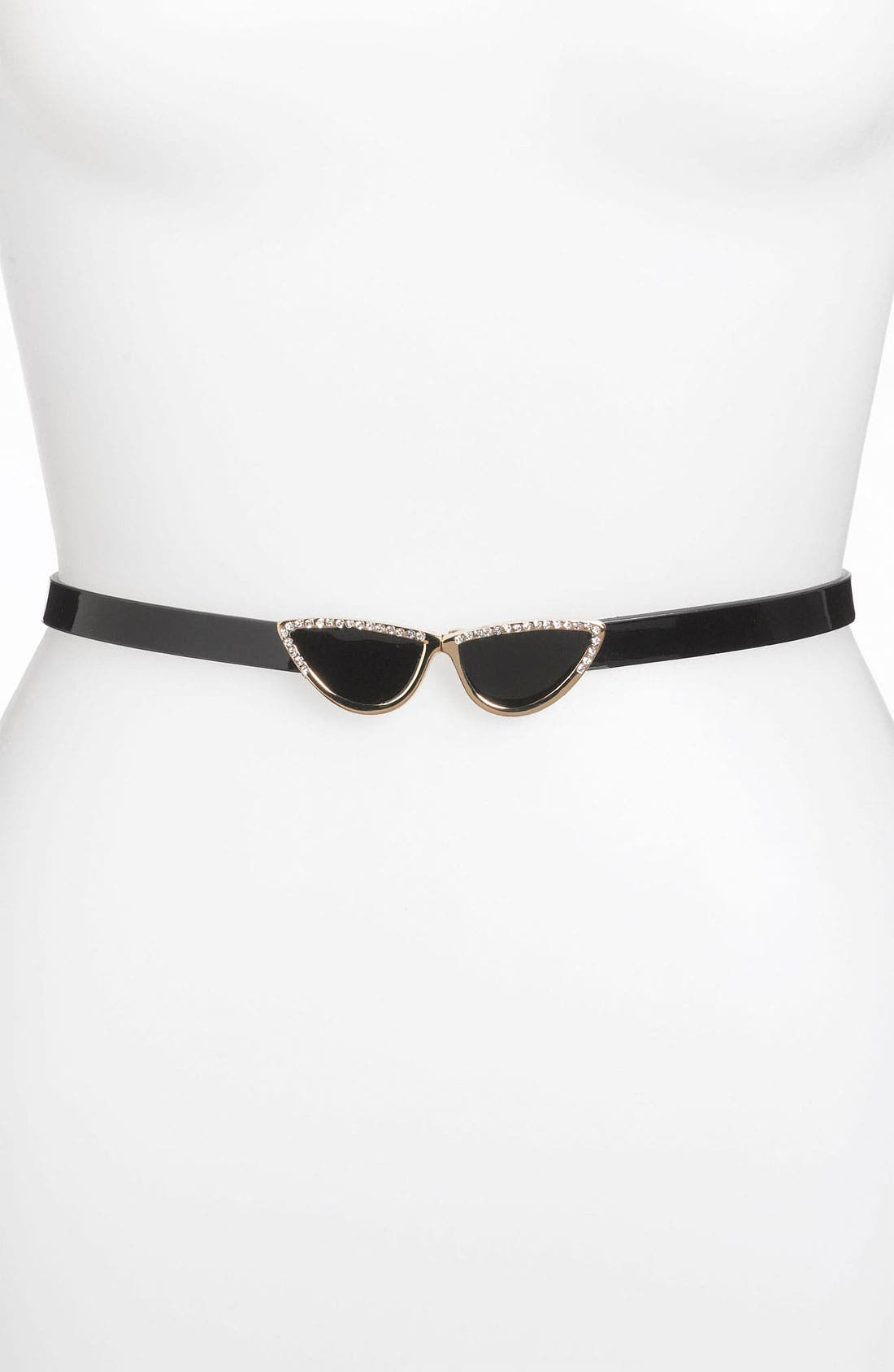 Main Image - kate spade new york 'sunglasses' patent leather belt