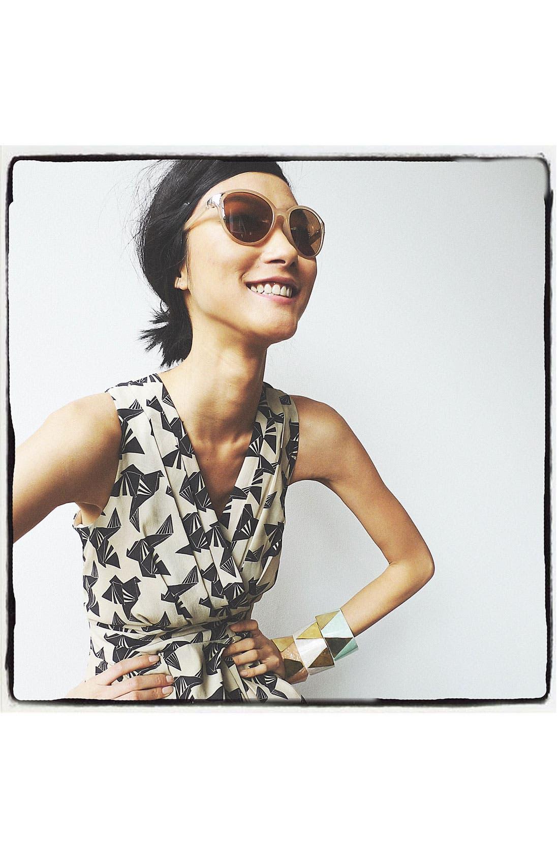 Alternate Image 3  - FE NY 'High Life' Sunglasses