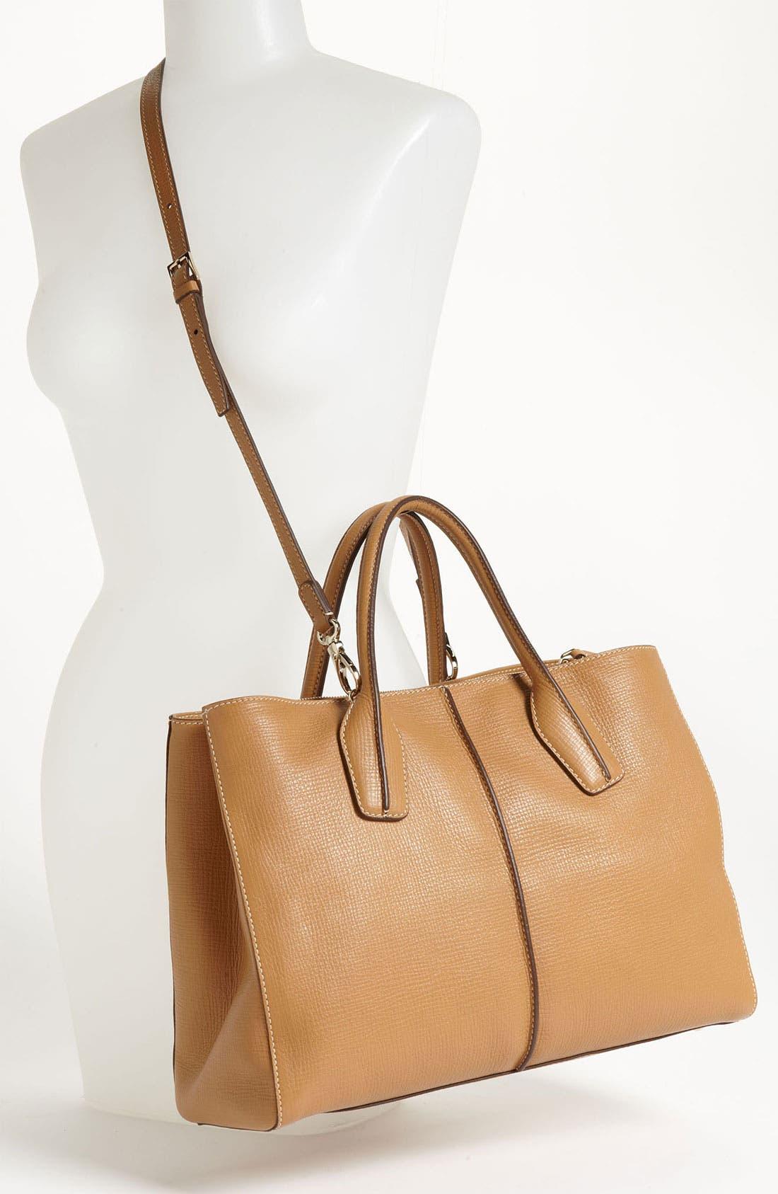 Alternate Image 2  - Tod's 'D-Styling - Medium' Leather Shopper