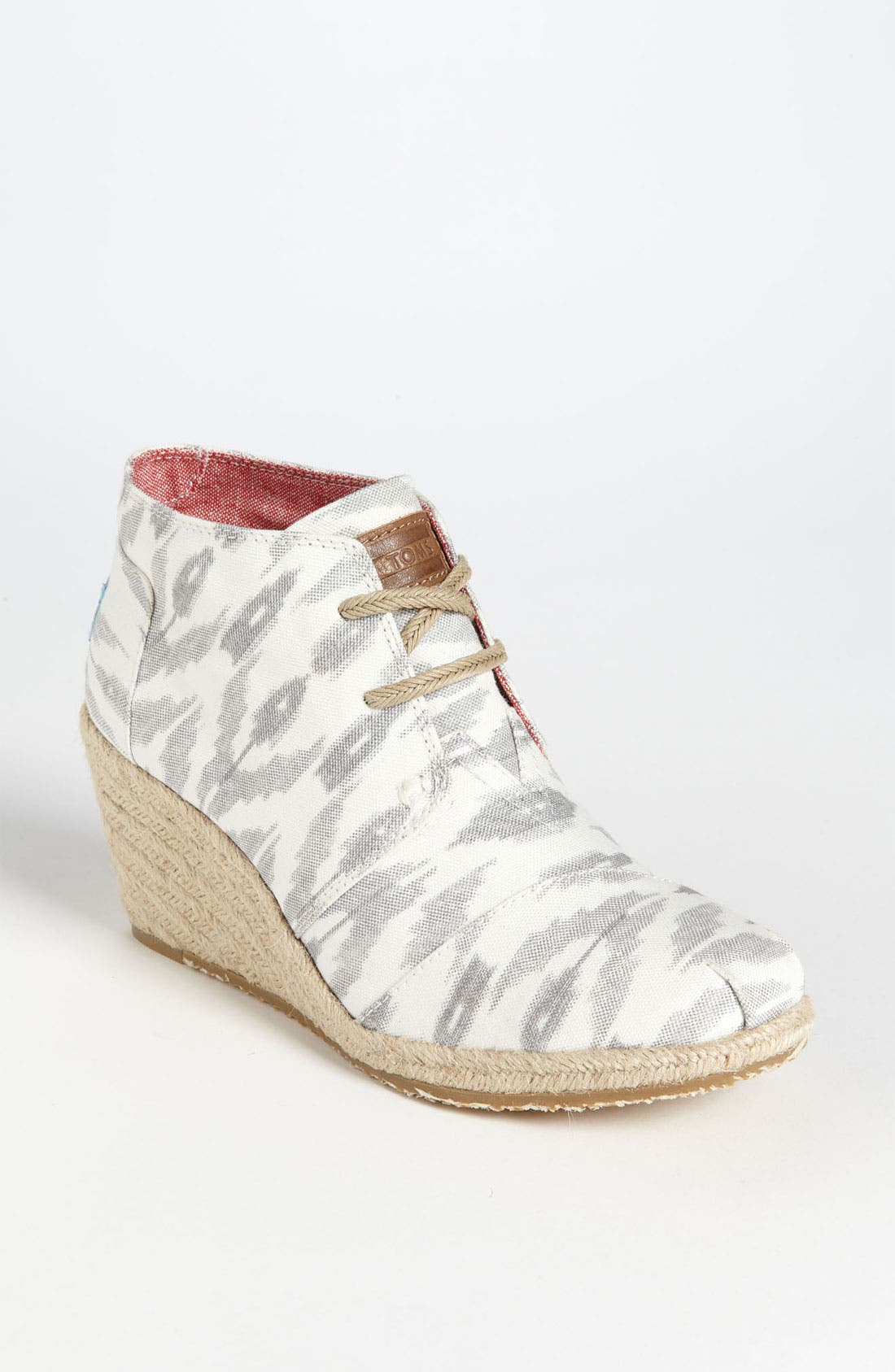 Alternate Image 1 Selected - TOMS 'Desert - Ikat' Wedge Bootie