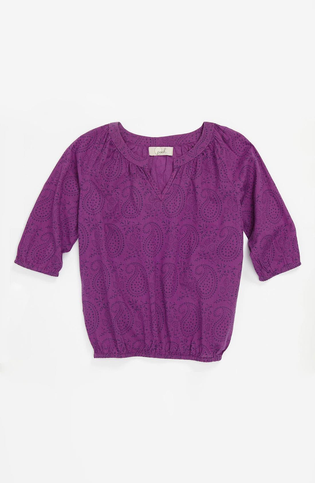 Alternate Image 1 Selected - Peek 'Murano' Top (Toddler, Little Girls & Big Girls)