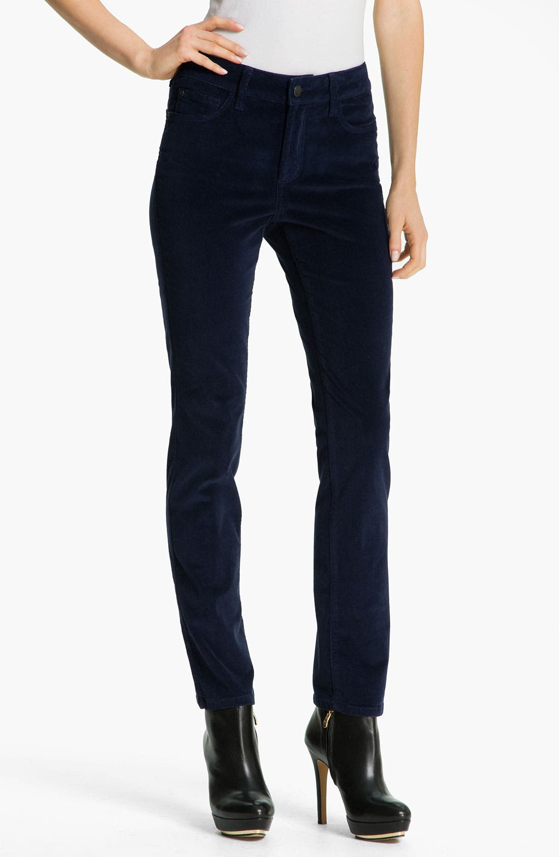Alternate Image 1 Selected - NYDJ Skinny Corduroy Jeans (Petite)
