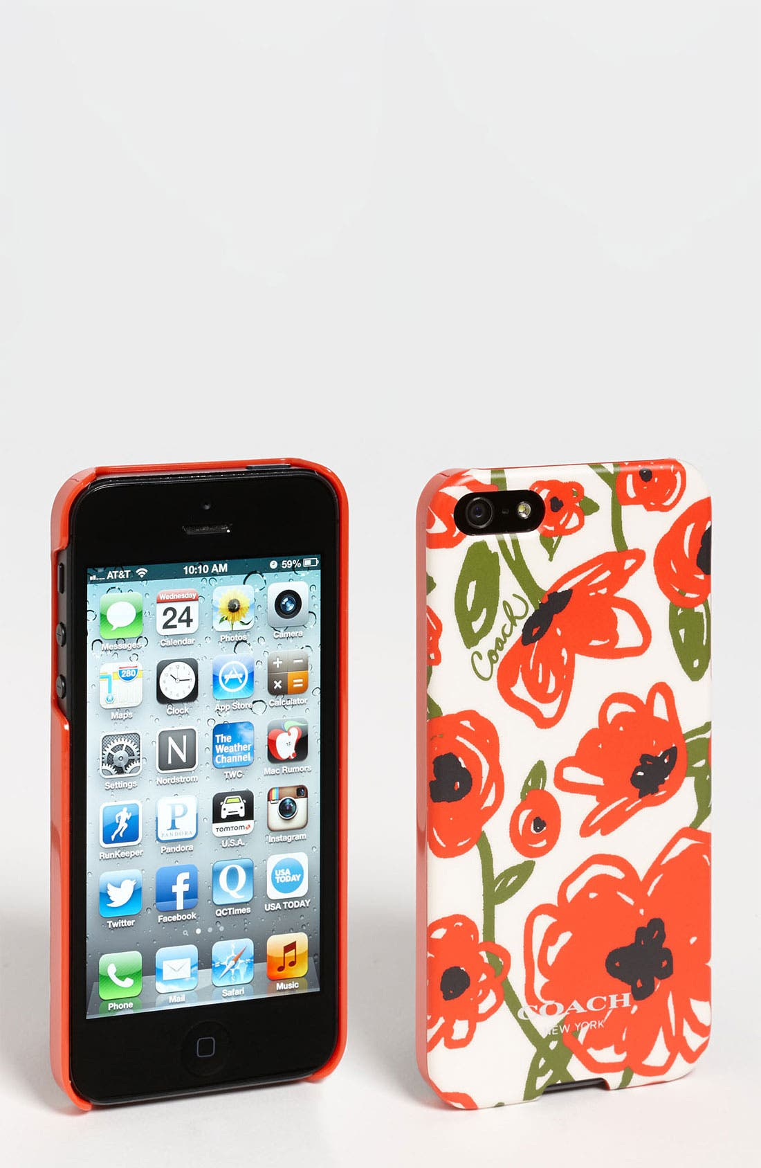 Alternate Image 1 Selected - COACH 'Pop Floral' iPhone 5 Case