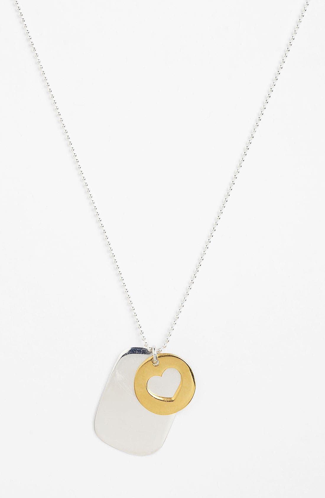Main Image - Argento Vivo 'Love' Pendant Necklace (Nordstrom Exclusive)