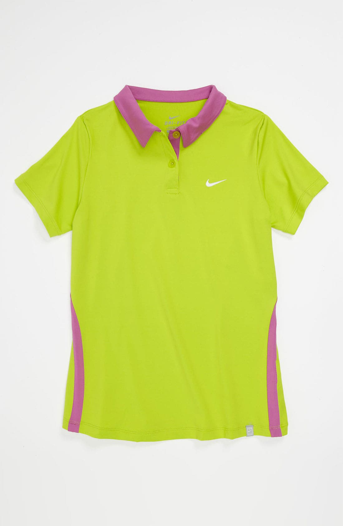 Alternate Image 1 Selected - Nike 'Border' Tennis Polo (Big Girls)