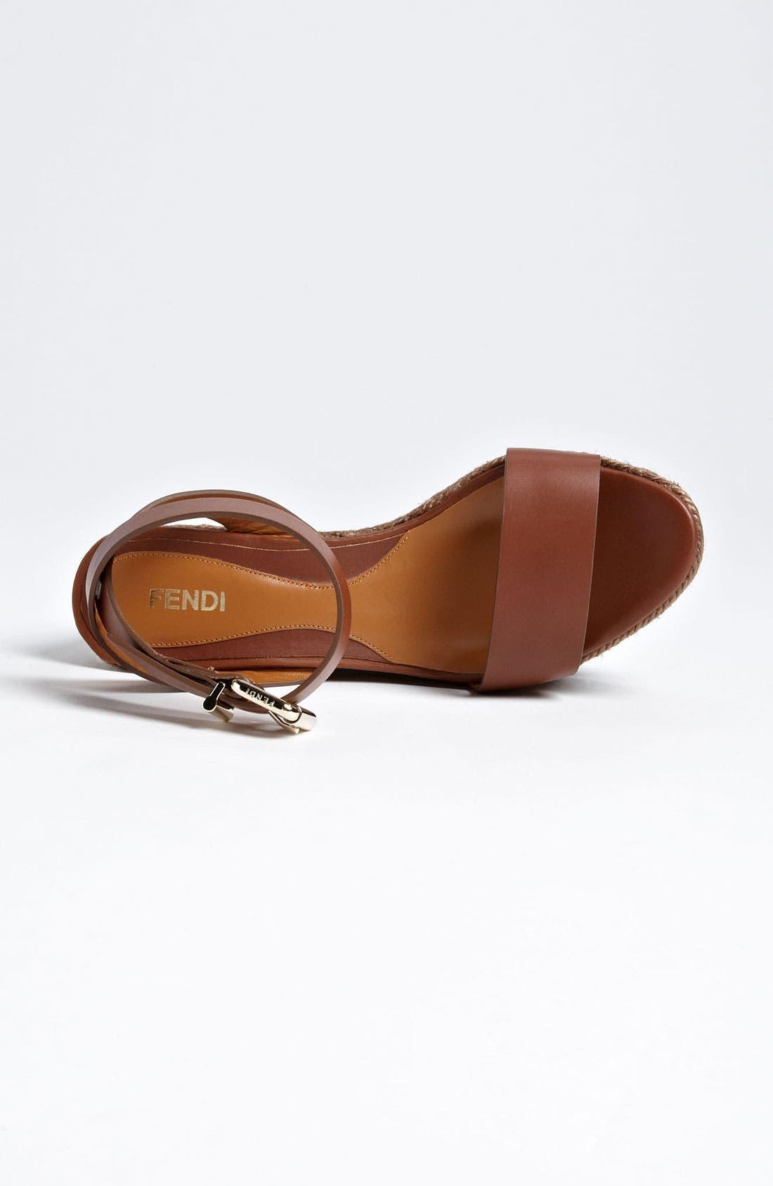 Alternate Image 3  - Fendi 'Pequin' Sandal