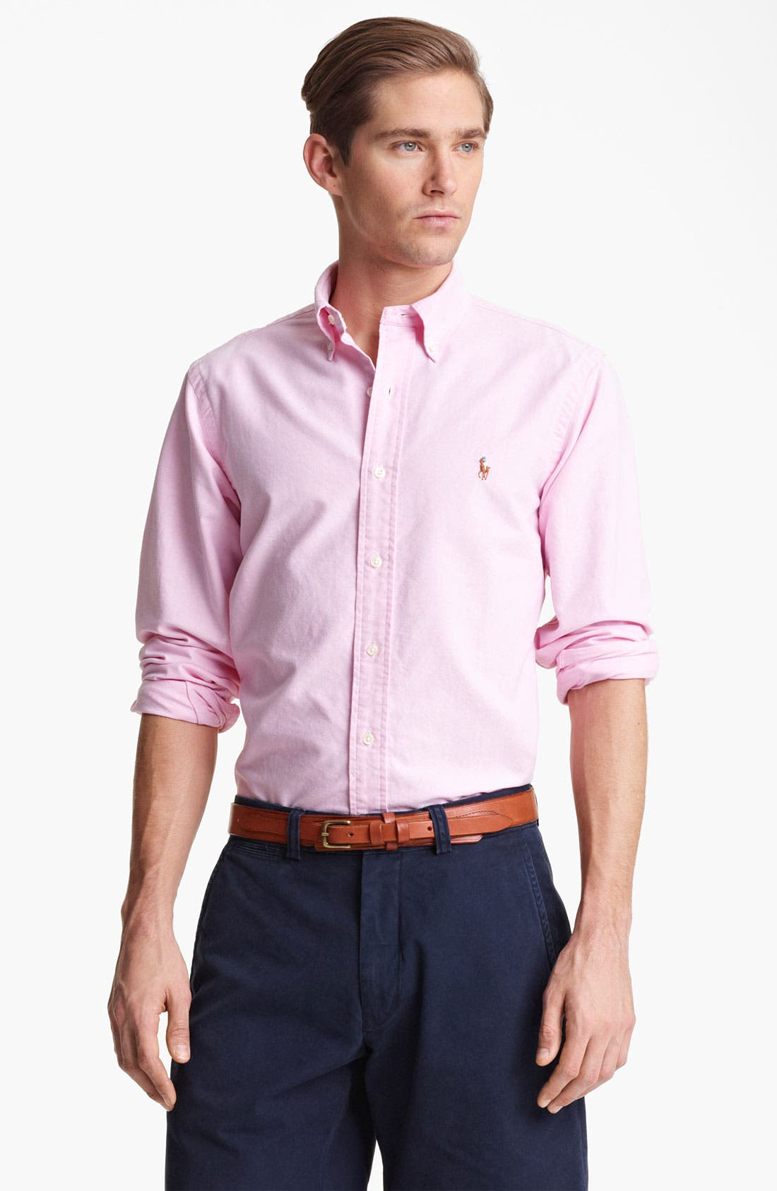 Main Image - Polo Ralph Lauren Custom Fit Oxford Shirt