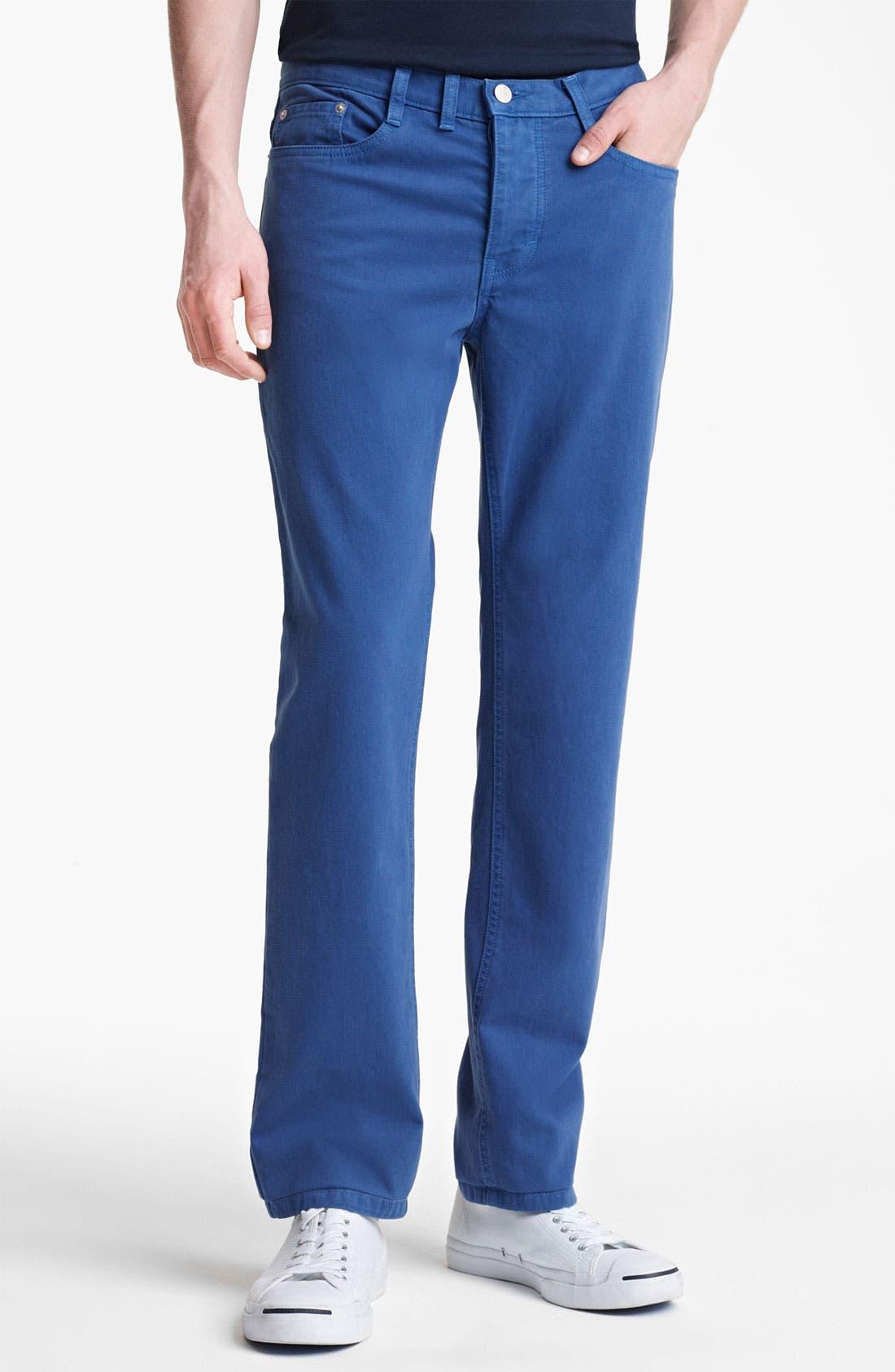 Alternate Image 1 Selected - Shipley & Halmos 'Rhodes' Slim Straight Leg Pants