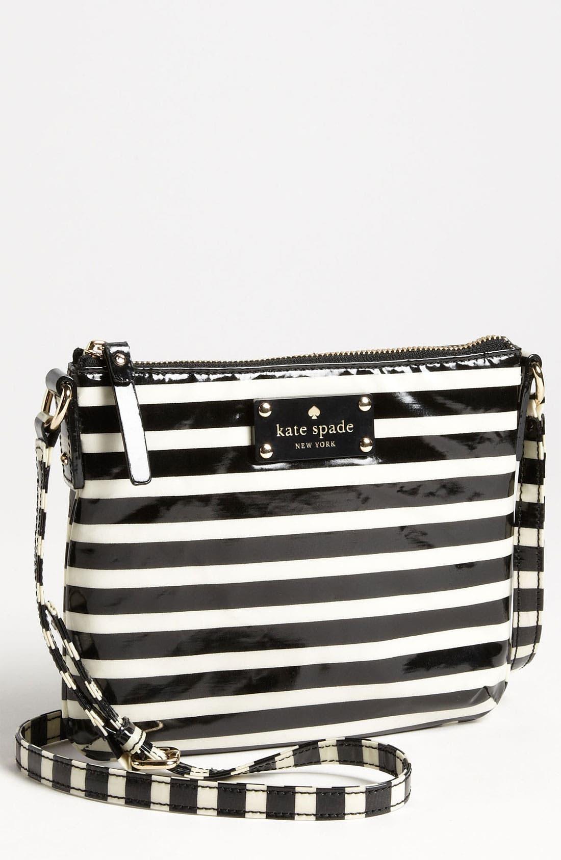 Alternate Image 1 Selected - kate spade new york 'stripe tenley' crossbody bag