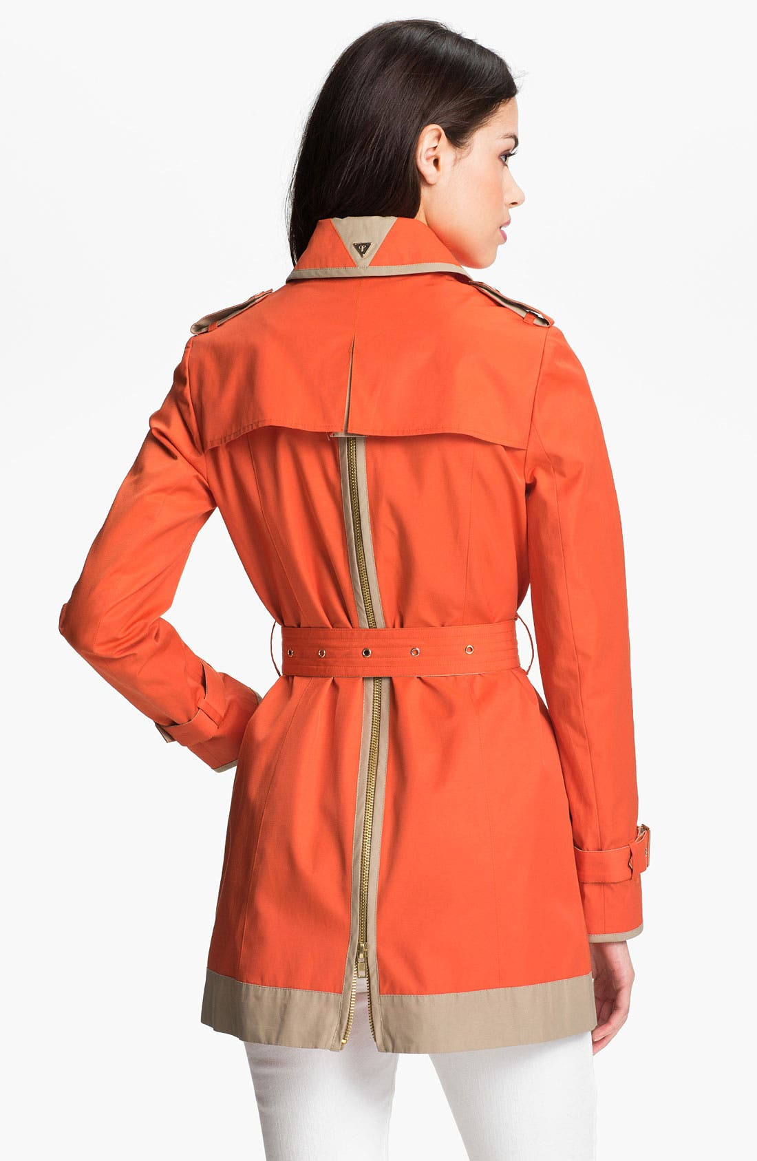 Alternate Image 2  - Sam Edelman Zip Back Trench Coat