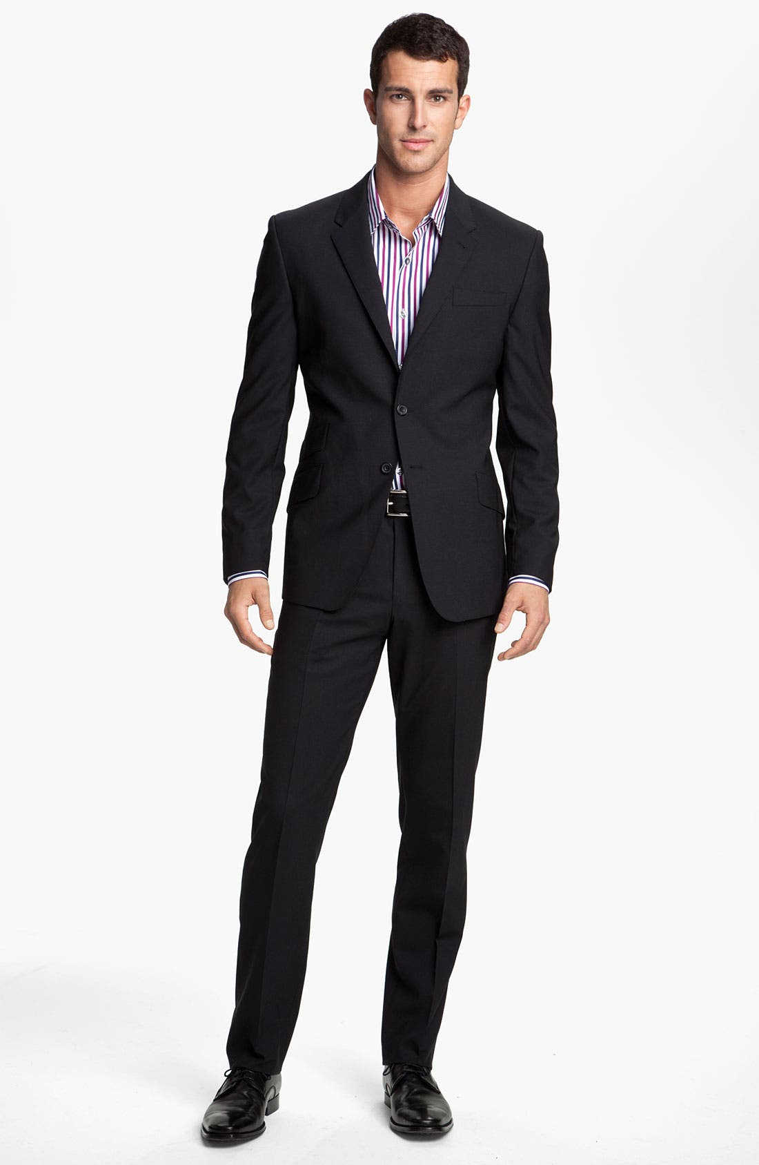 Alternate Image 2  - Paul Smith London Stretch Wool Suit