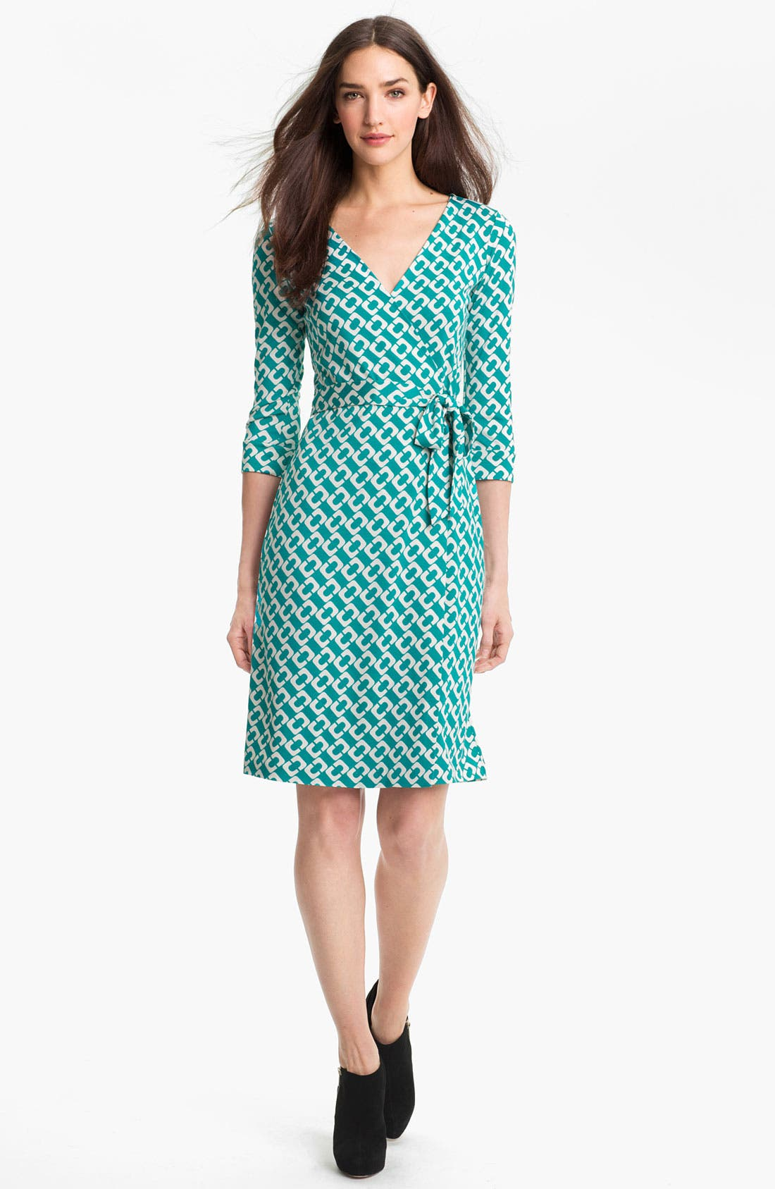 Main Image - Diane von Furstenberg 'New Julian 2' Silk Wrap Dress