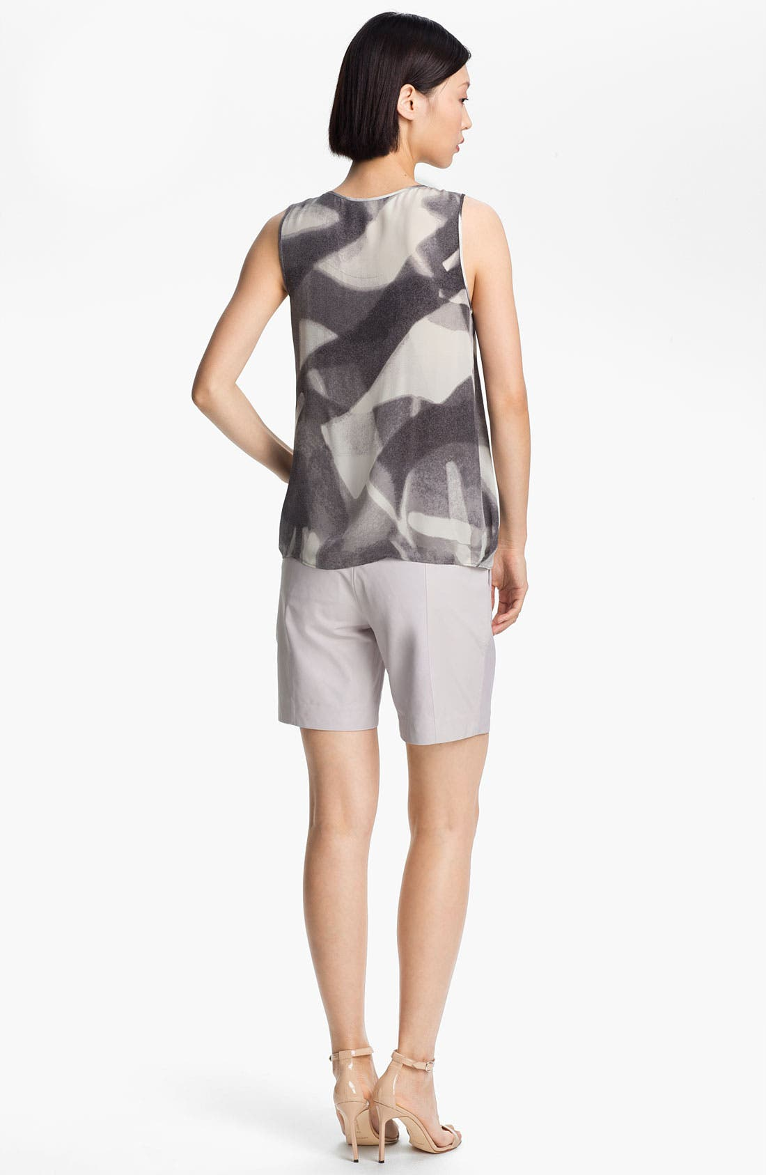 Alternate Image 2  - Halston Heritage Abstract Print Double Georgette Top