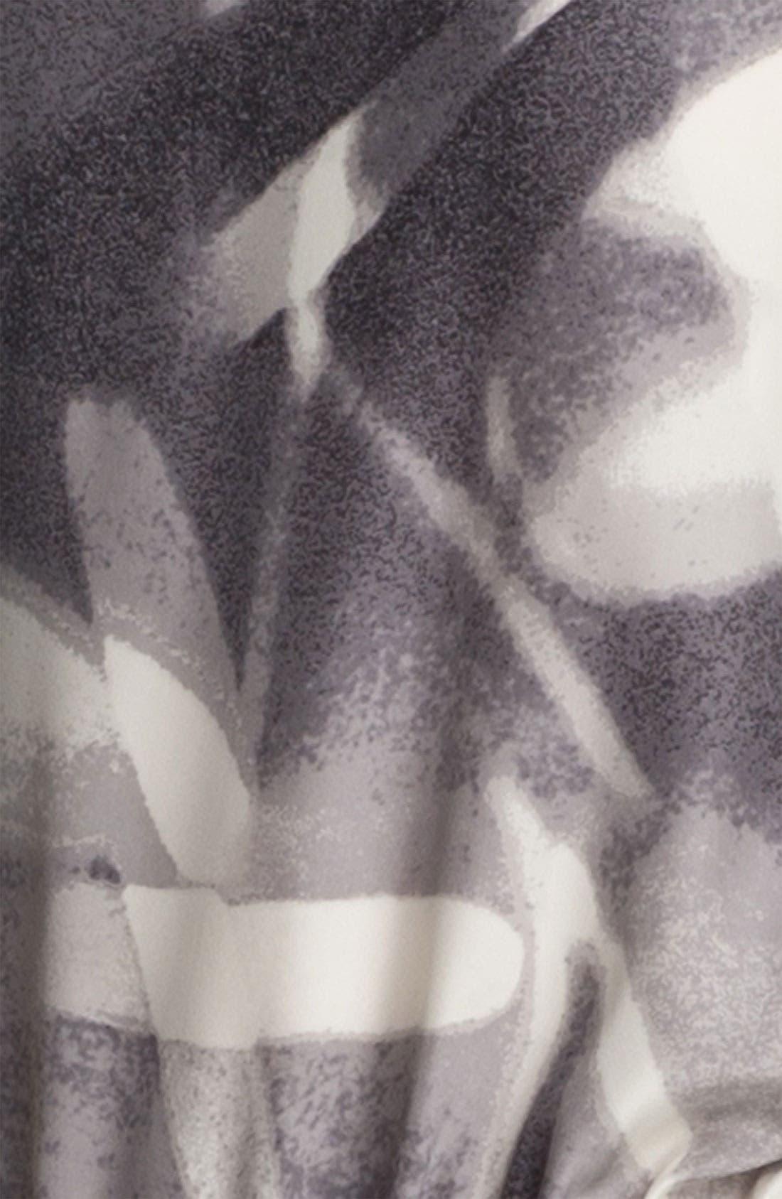 Alternate Image 3  - Halston Heritage Print Silk Tunic Dress