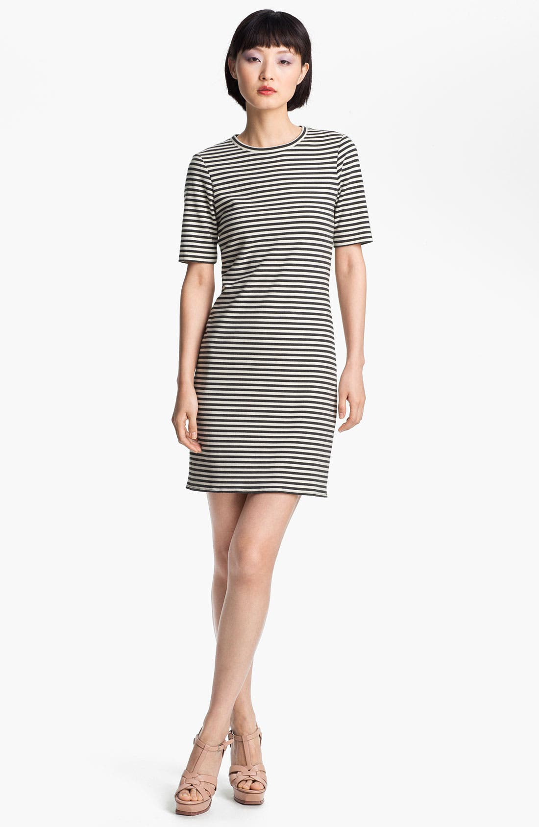 Main Image - Tibi Stripe Jersey Dress