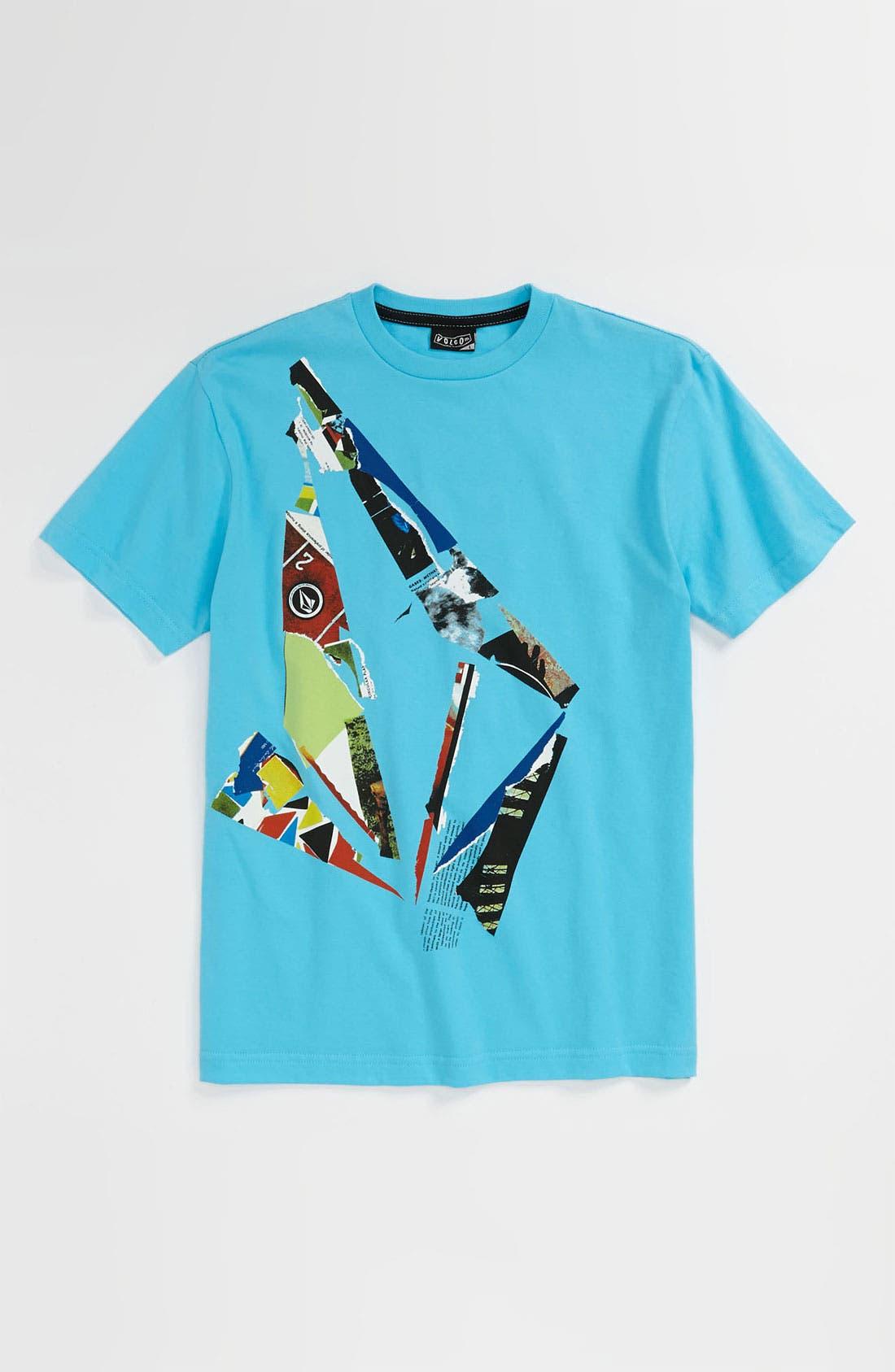 Alternate Image 1 Selected - Volcom 'Scrap Stone' T-Shirt (Big Boys)