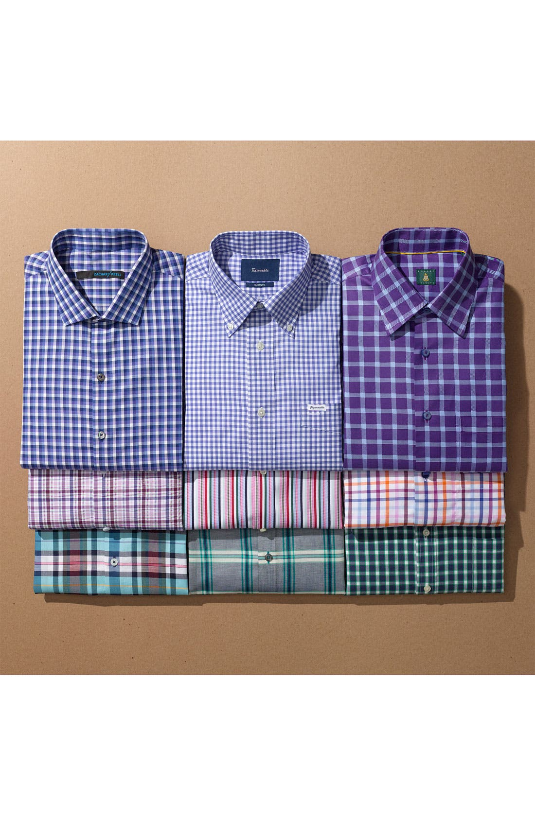 Alternate Image 4  - Nordstrom Smartcare™ Regular Fit Sport Shirt