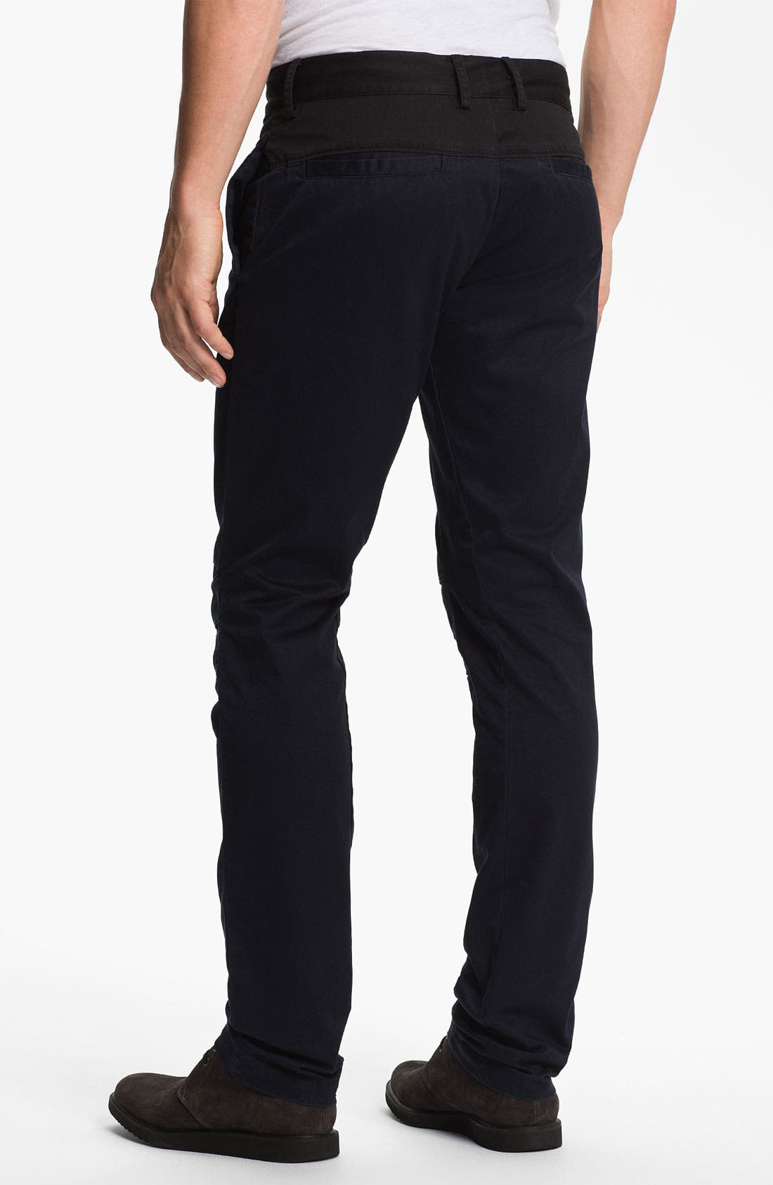 Alternate Image 2  - adidas SLVR Slim Flat Front Pants