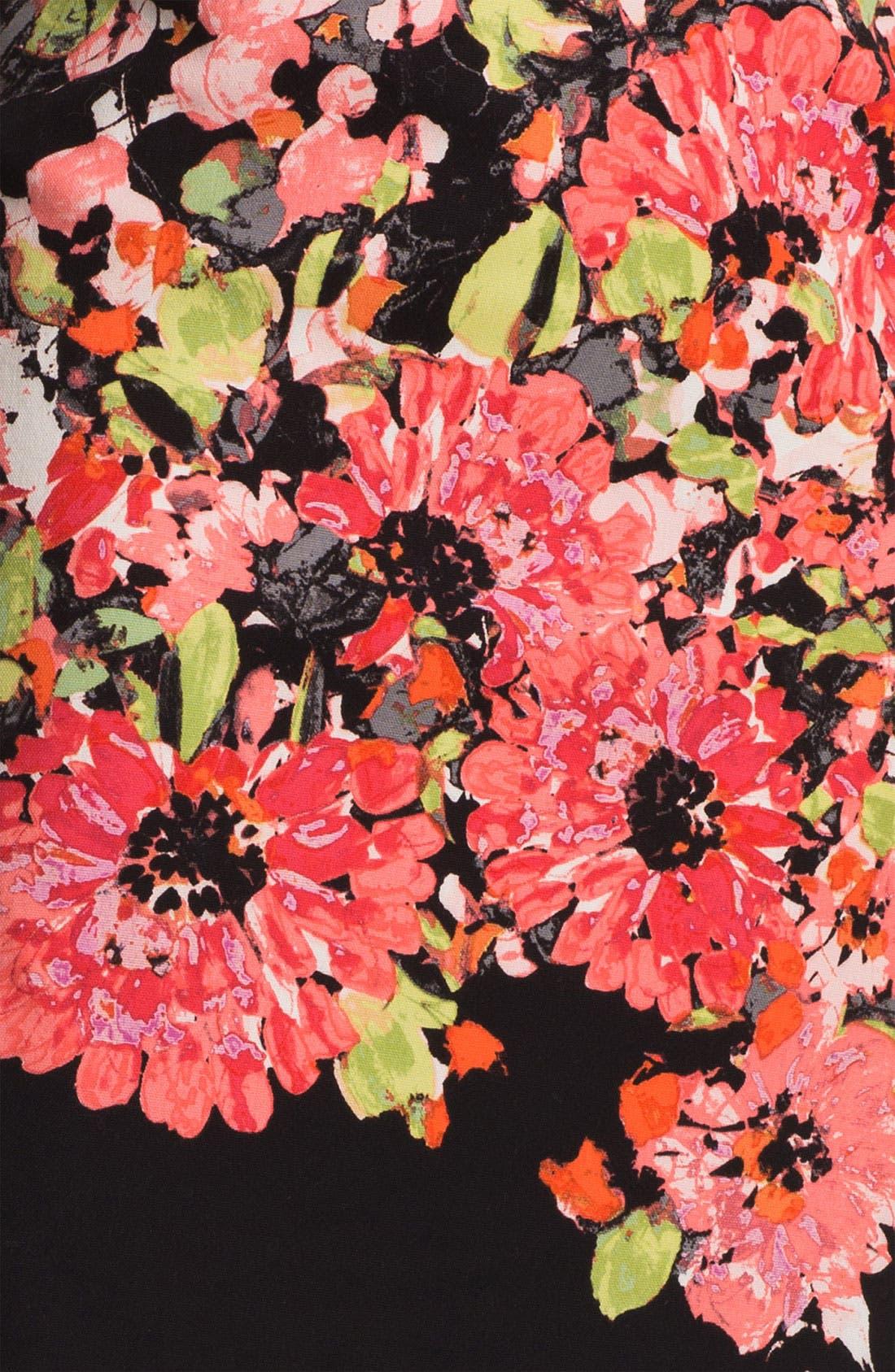 Alternate Image 3  - Nic + Zoe Floral Print Pencil Skirt