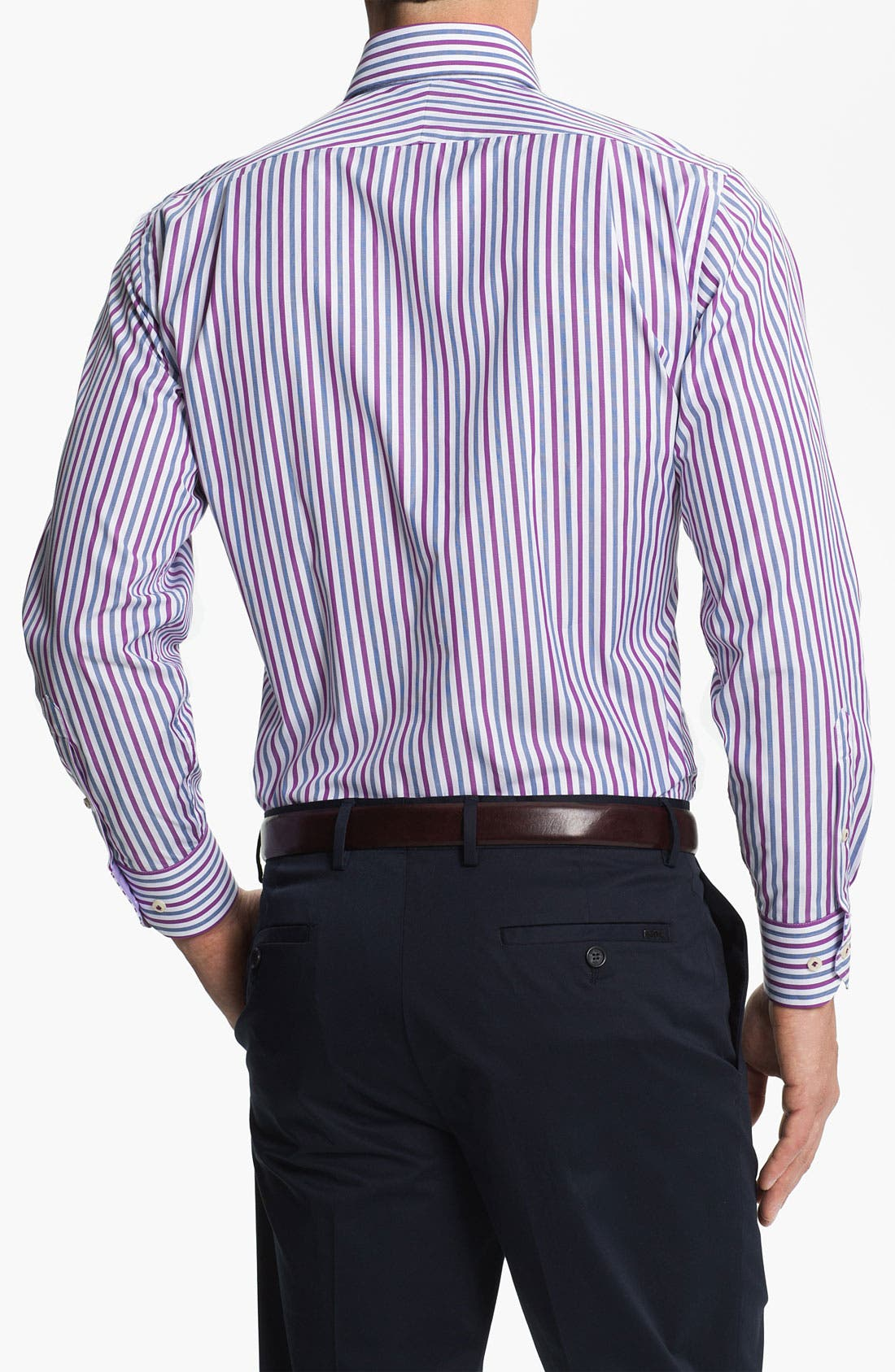 Alternate Image 2  - Peter Millar Regular Fit Sport Shirt